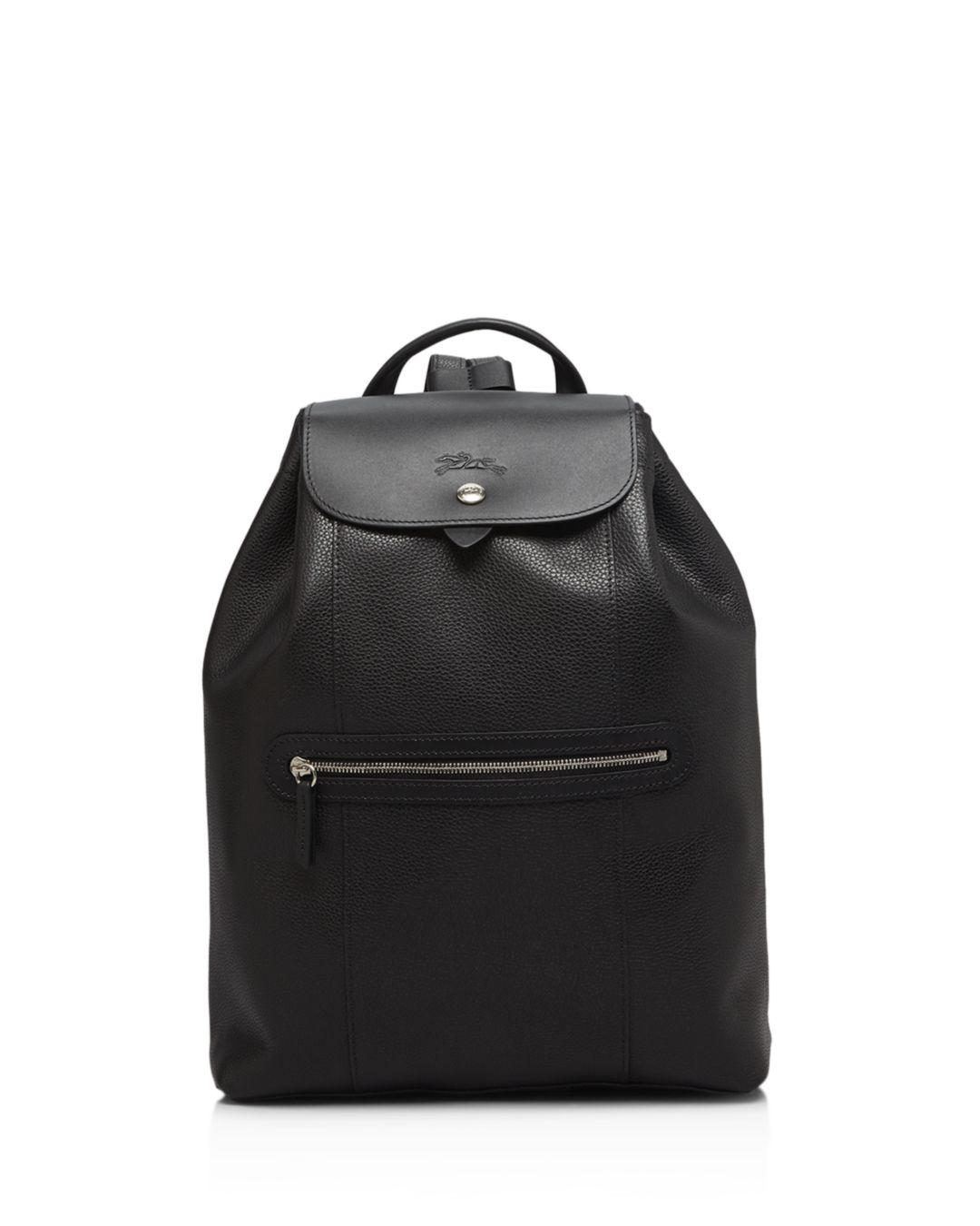 785ea094f50f Lyst - Longchamp Veau Foulonne Backpack in Black - Save 20%