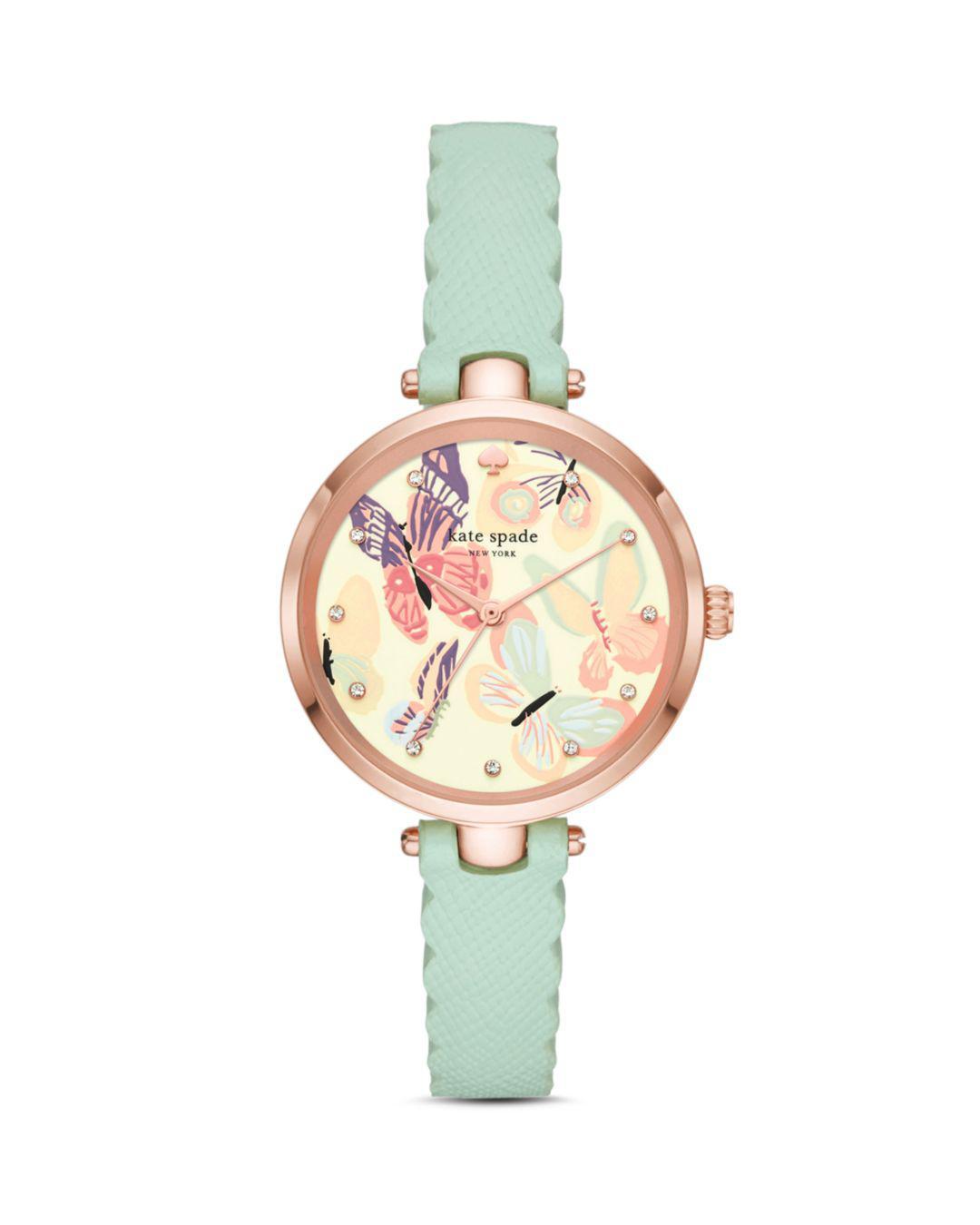 74c832abdfa Kate Spade - Multicolor Butterfly Holland Watch - Lyst. View fullscreen