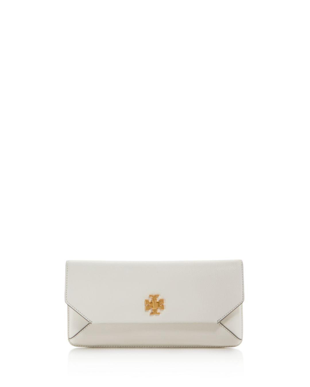 ca3e0b6291ad Tory Burch. Women s Kira Leather Envelope Clutch