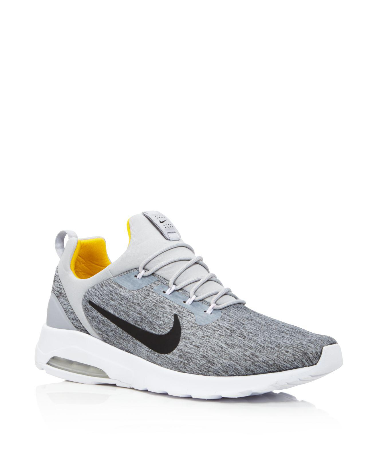 27bfa0840ae36 ... where to buy lyst nike mens air max motion racer sneakers in gray for  men 47b96