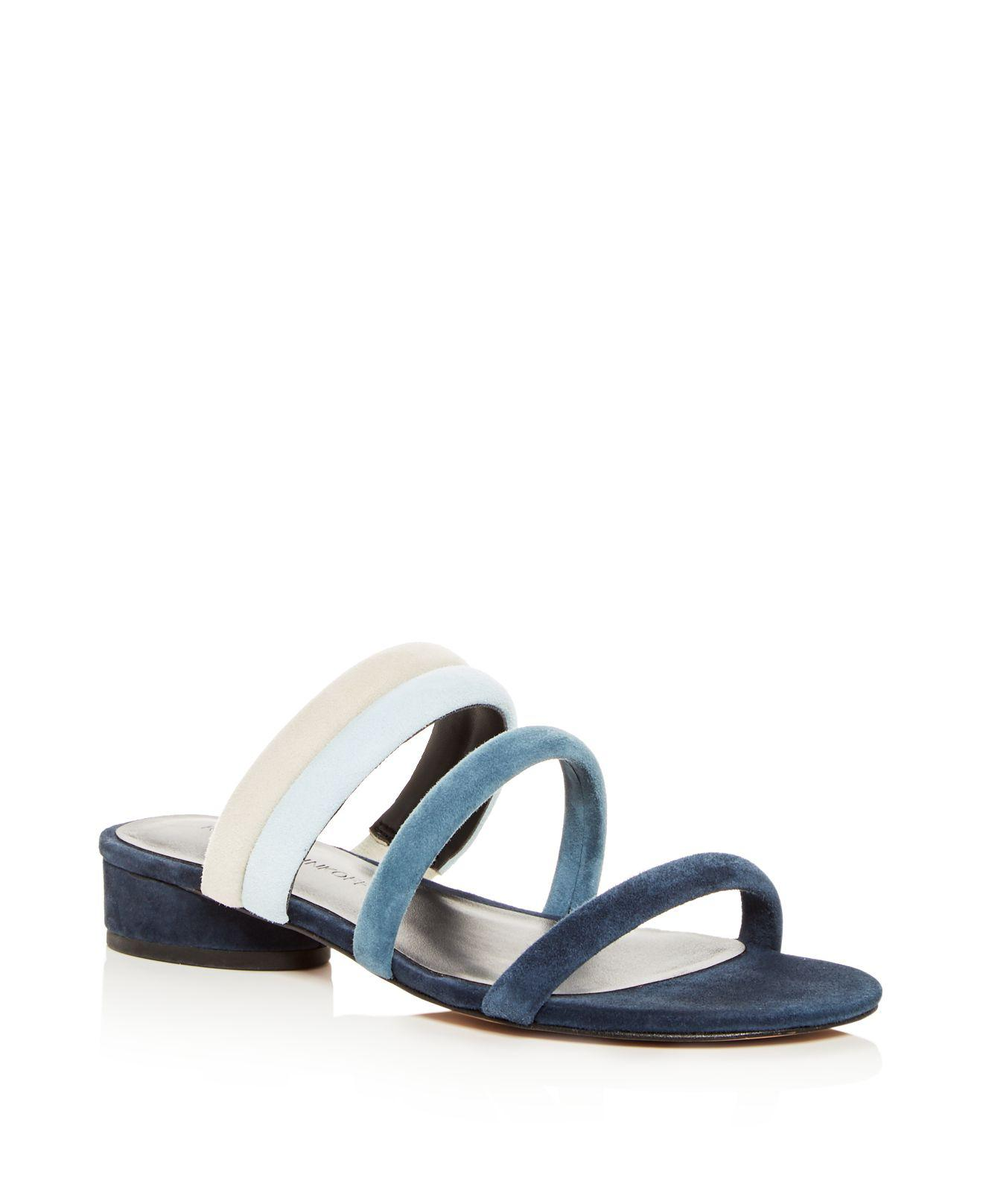 clearance wide range of Rebecca Minkoff Suede Slide Sandals best prices cheap price cheap find great cheapest price sale online sale cheapest price avt7girew