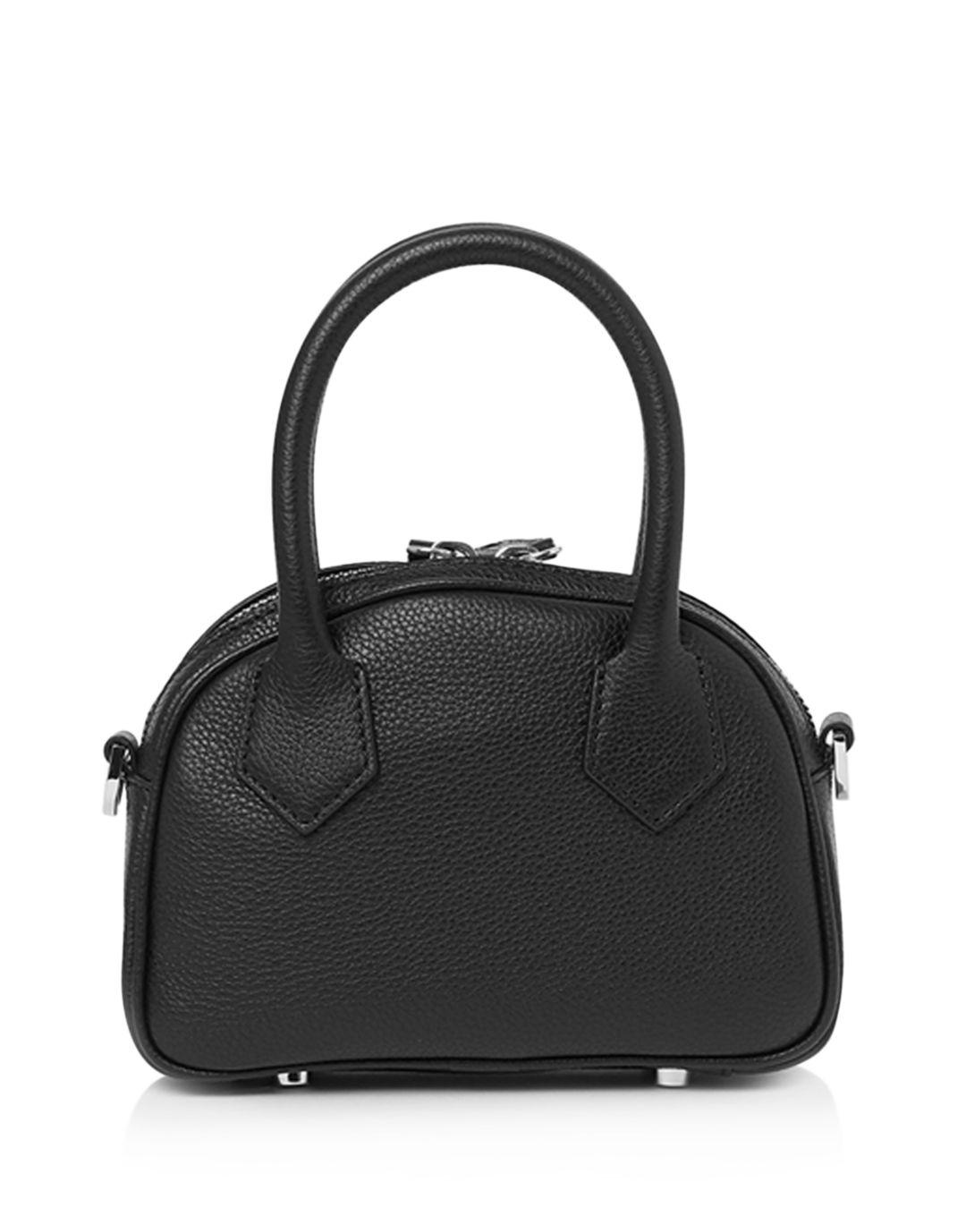 d51642eb94af Lyst - The Kooples Irina Mini Leather Crossbody Bag in Black