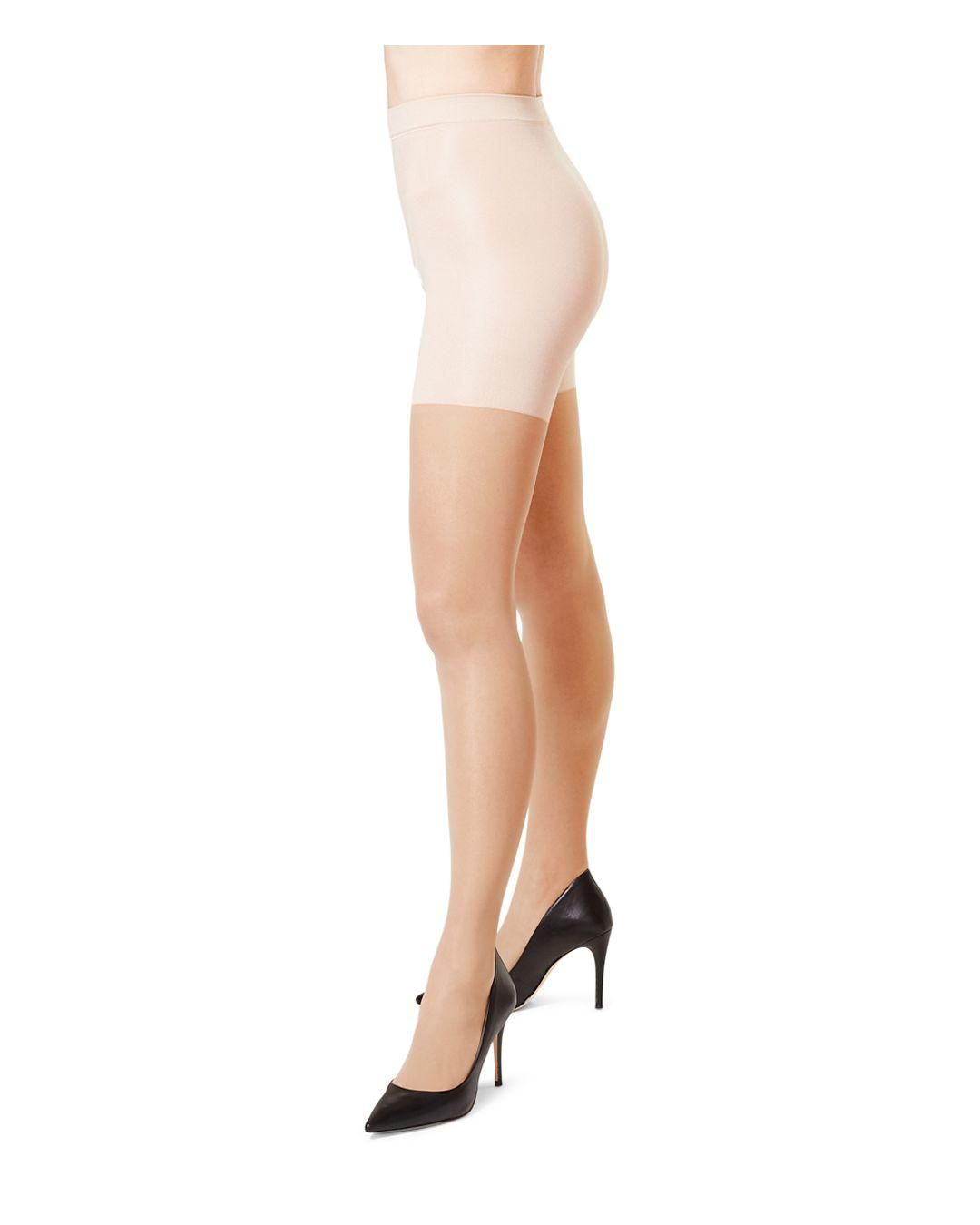 22b48bf3606 Spanx Firm Believer Sheer Tights - Save 19% - Lyst