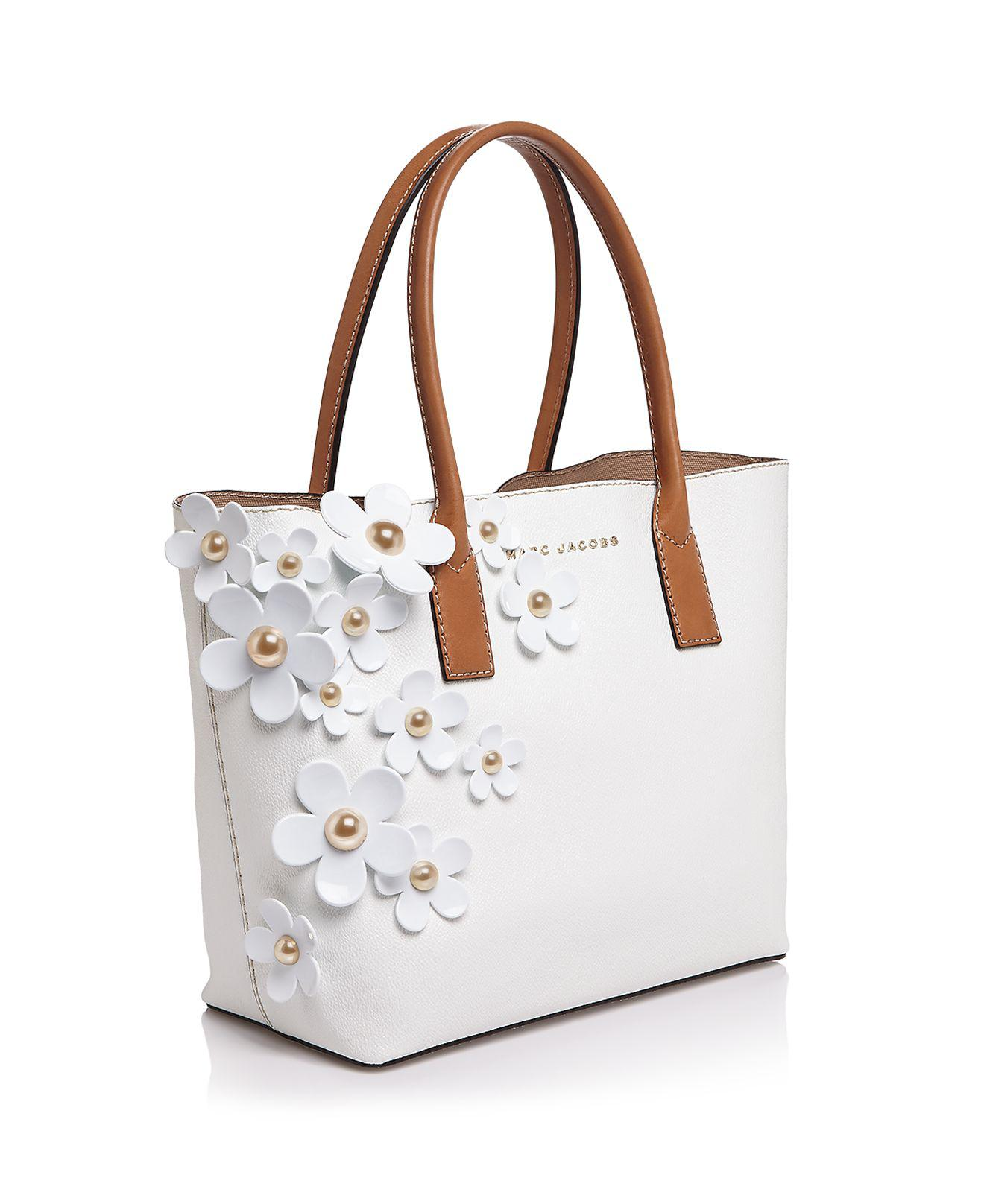 0d9edaab7728 Lyst - Marc Jacobs The Daisy Tote in White