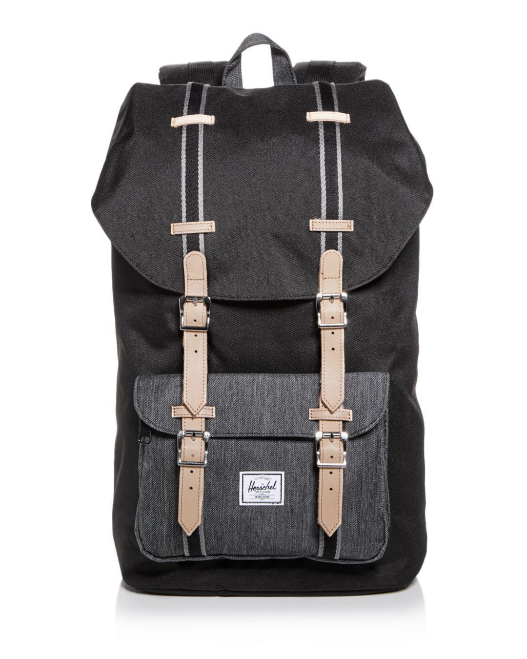 f7e59777c6 Lyst - Herschel Supply Co. Classic Little America Backpack in Black ...