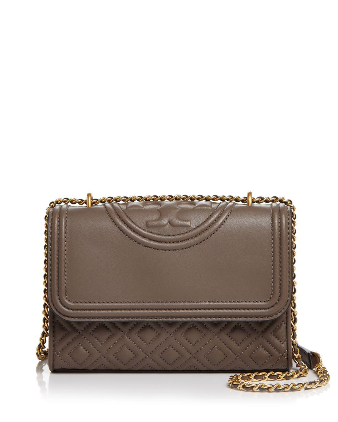 37af9d064ccb Tory Burch Fleming Convertible Small Leather Shoulder Bag - Save 69 ...