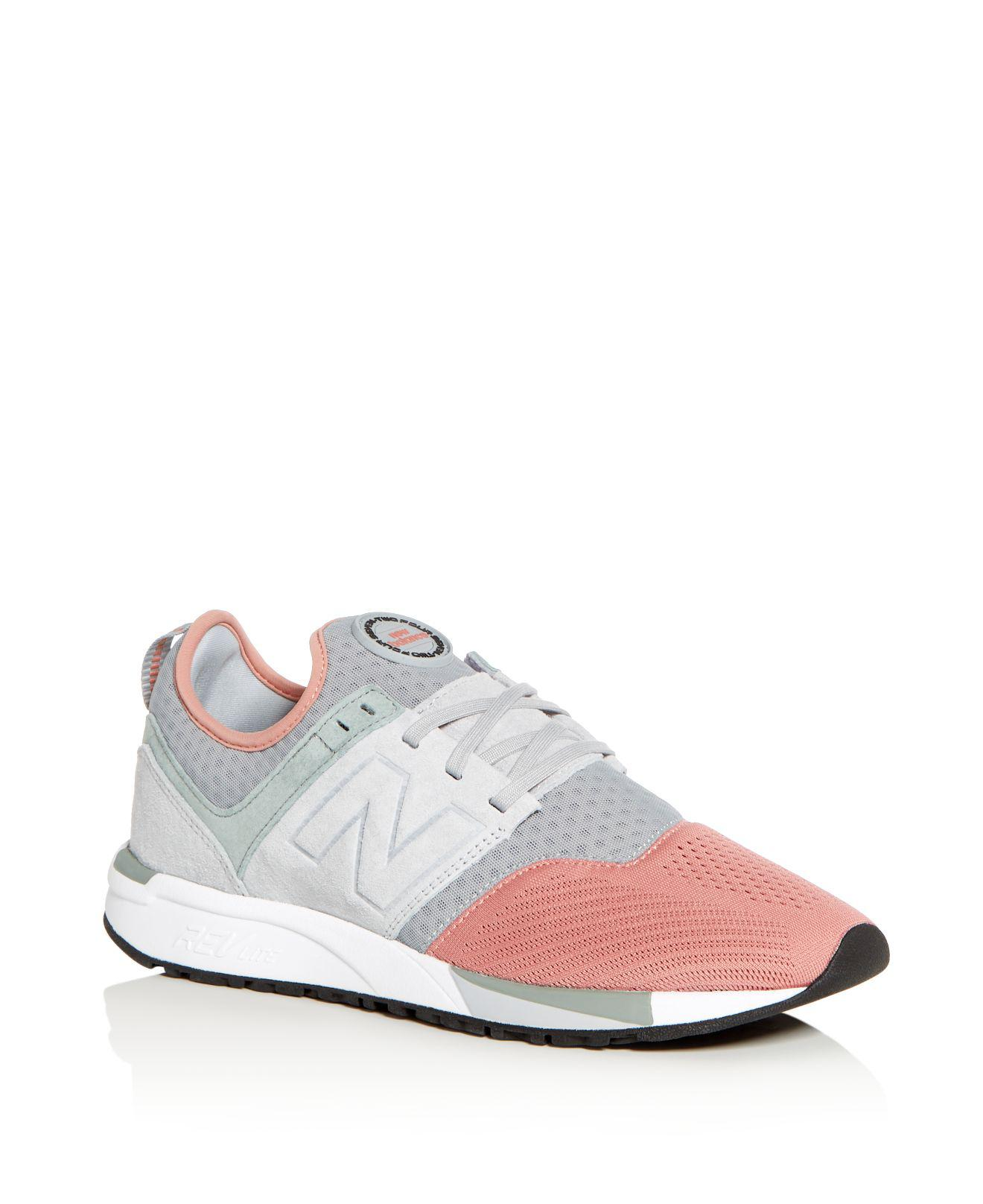New Balance Men's 999 Classic Mixed Media Lace Up Sneakers mPKb1Lo