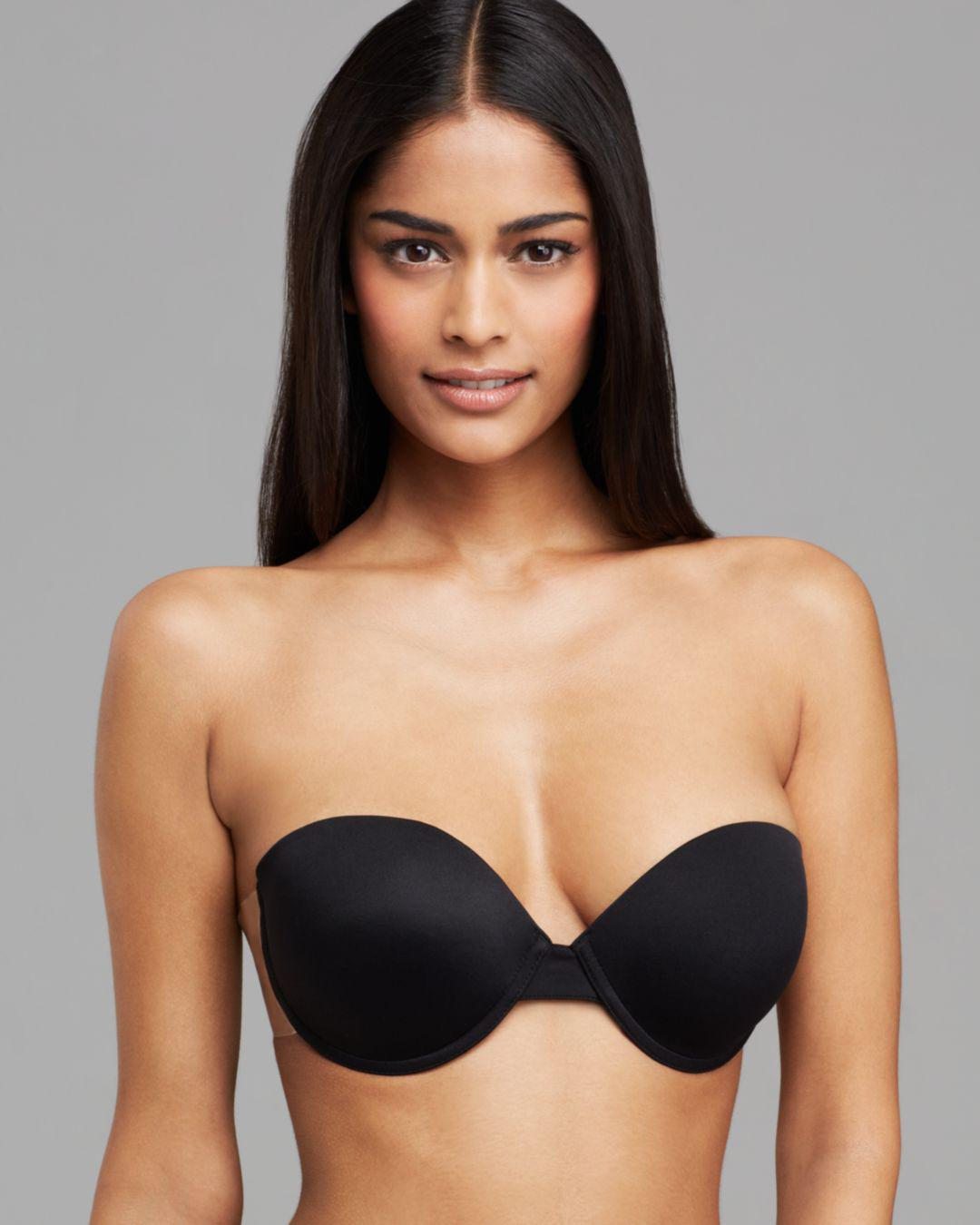 31c83f6ec Lyst - Fashion Forms Go Bre Ultimate Boost Self-Adhesive Bra in Black