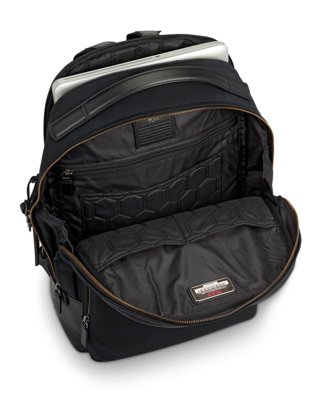 bd5d17fcca74 Tumi Harrison Nylon Webster Backpack in Black for Men - Lyst