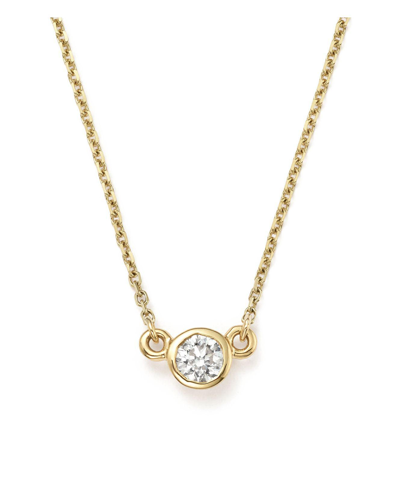lisa multi o round diamond set gold ctw necklace halo white majesty stone bijoux pendant with bezel in chain accents