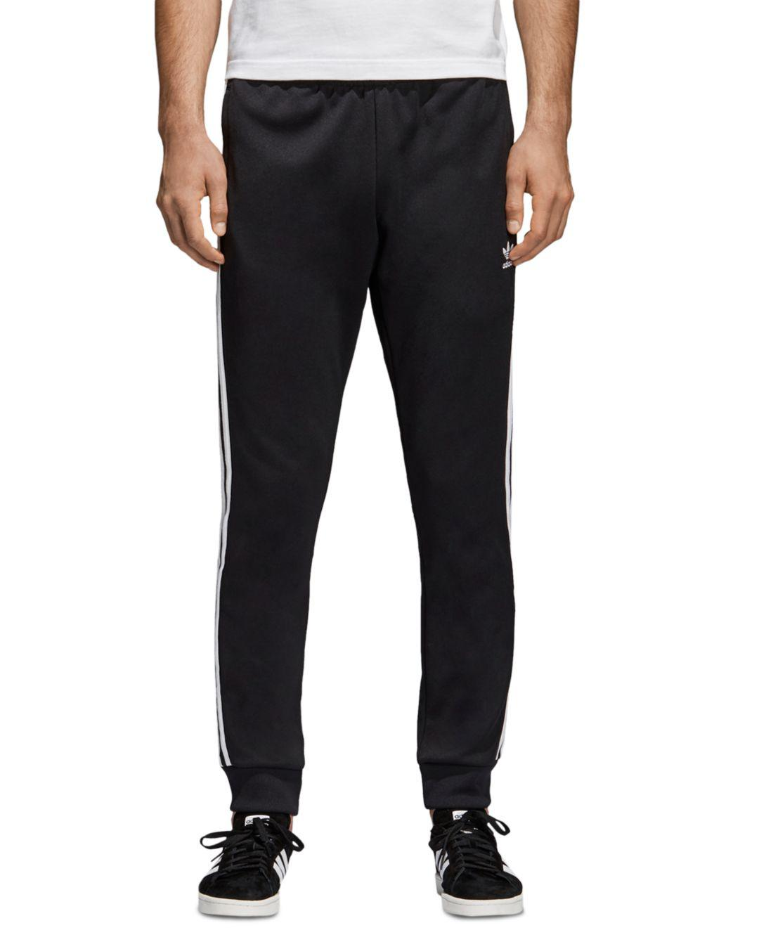 81e113ec7 adidas Originals Superstar Track Pants in Black for Men - Save 8% - Lyst
