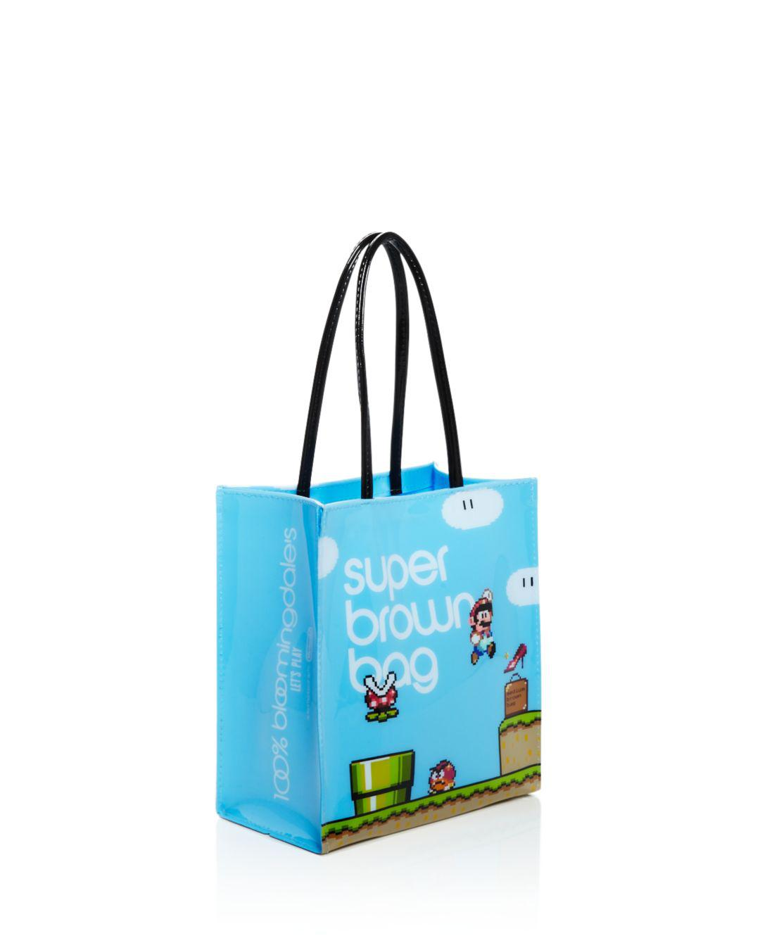 743a6b083 Bloomingdale's Nintendo Super Mario Tote in Blue - Lyst