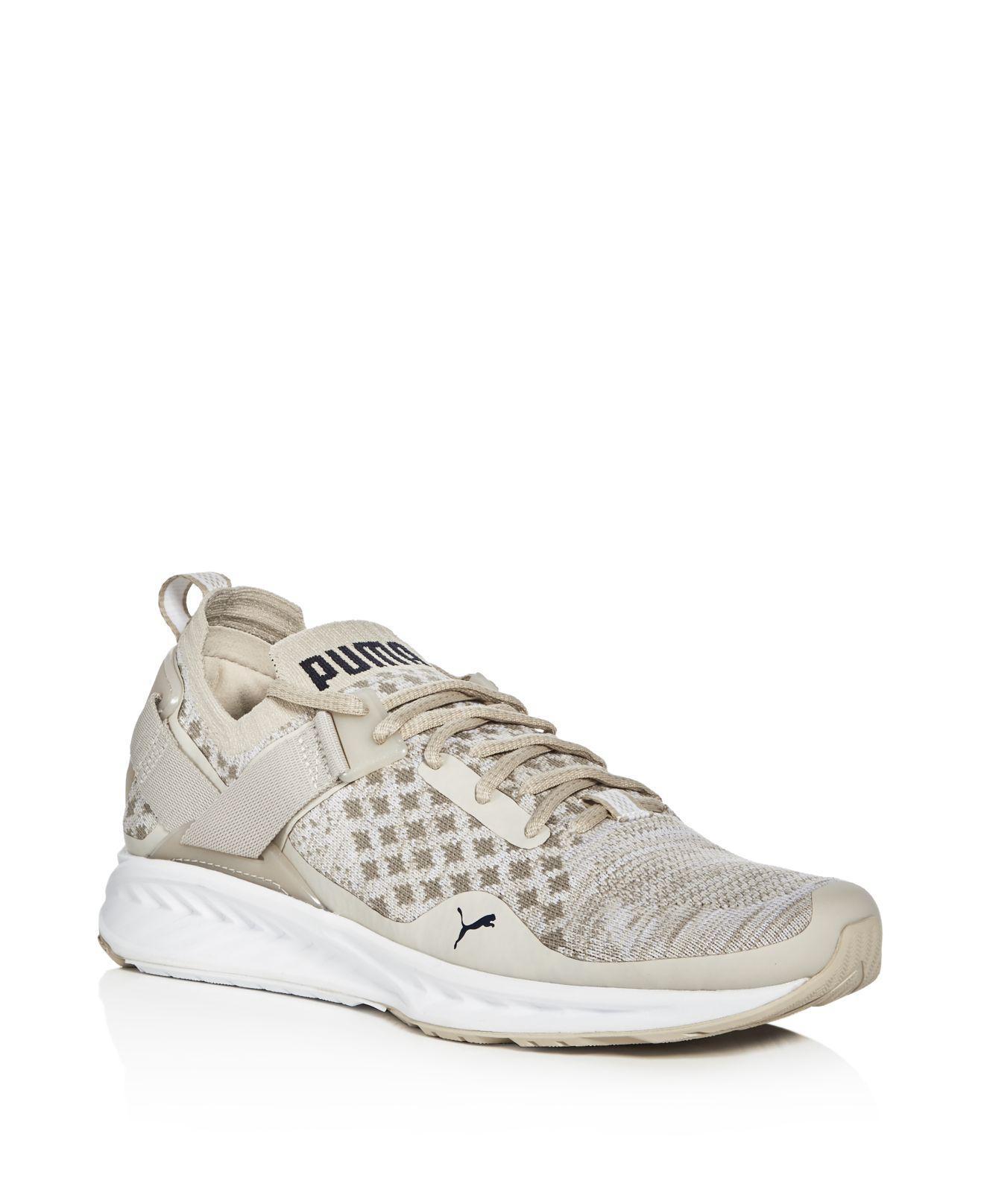 f7c85e738f5948 Lyst - PUMA Men s Ignite Evoknit Lo Pavement Lace Up Sneakers in ...