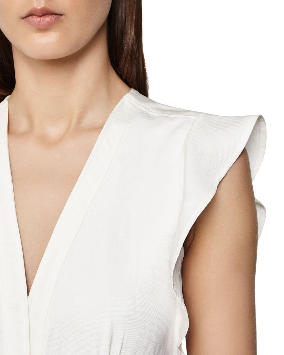 f8bd845024 Reiss - White Enid Belted Dress - Lyst. View fullscreen