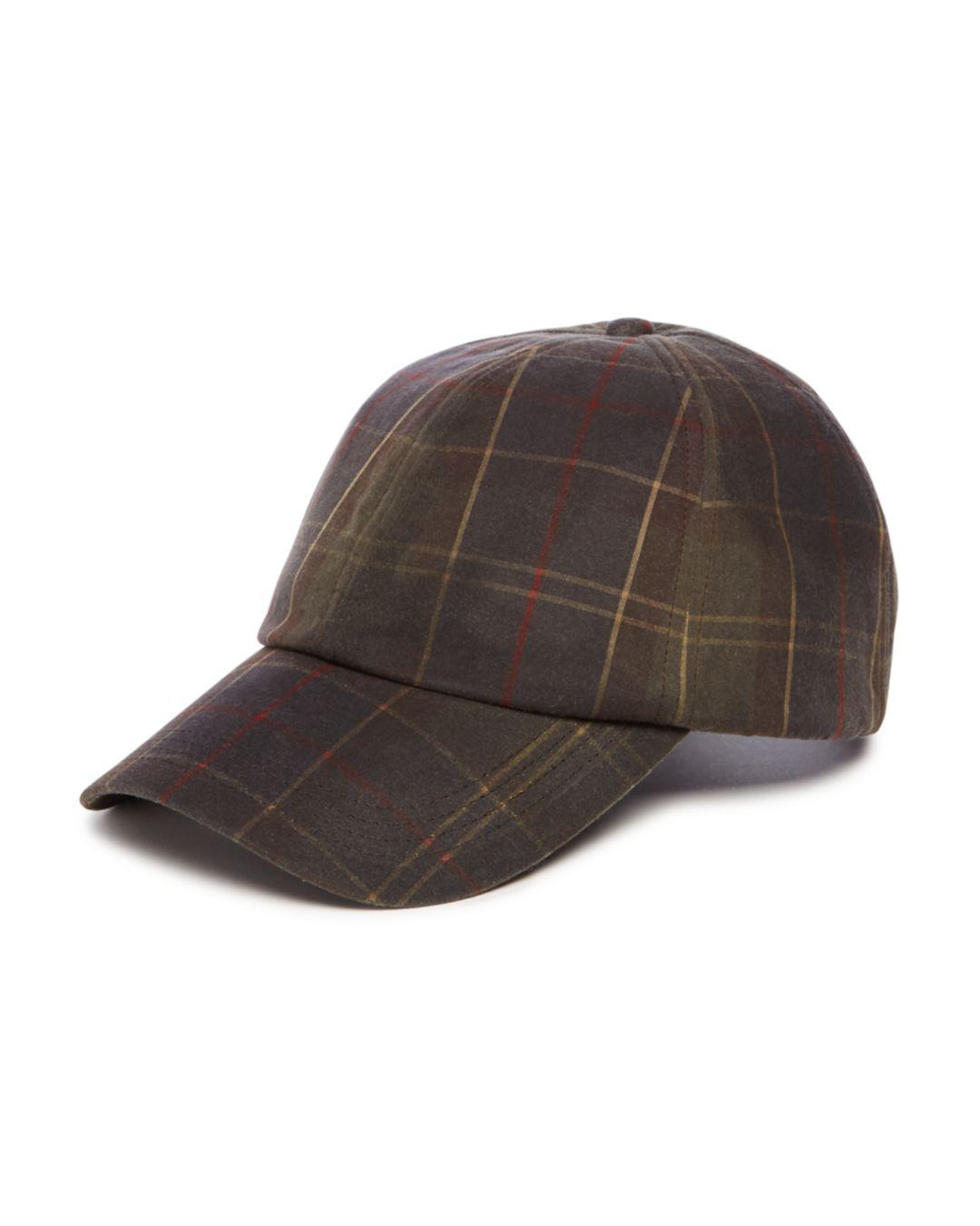 cd259a4d41f Barbour Washed-wax Tartan Sports Cap in Brown for Men - Lyst