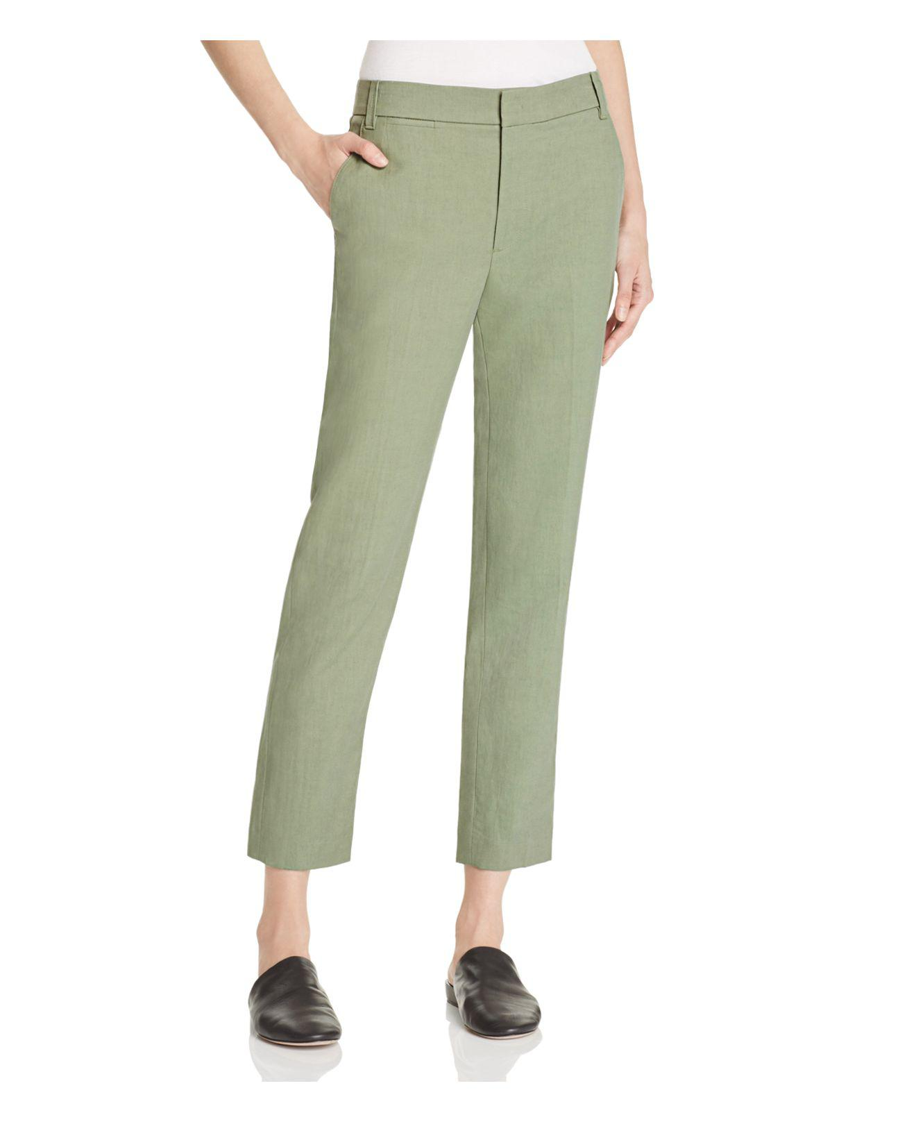 f3f886aba Lyst - Vince Coin Pocket Trousers in Green