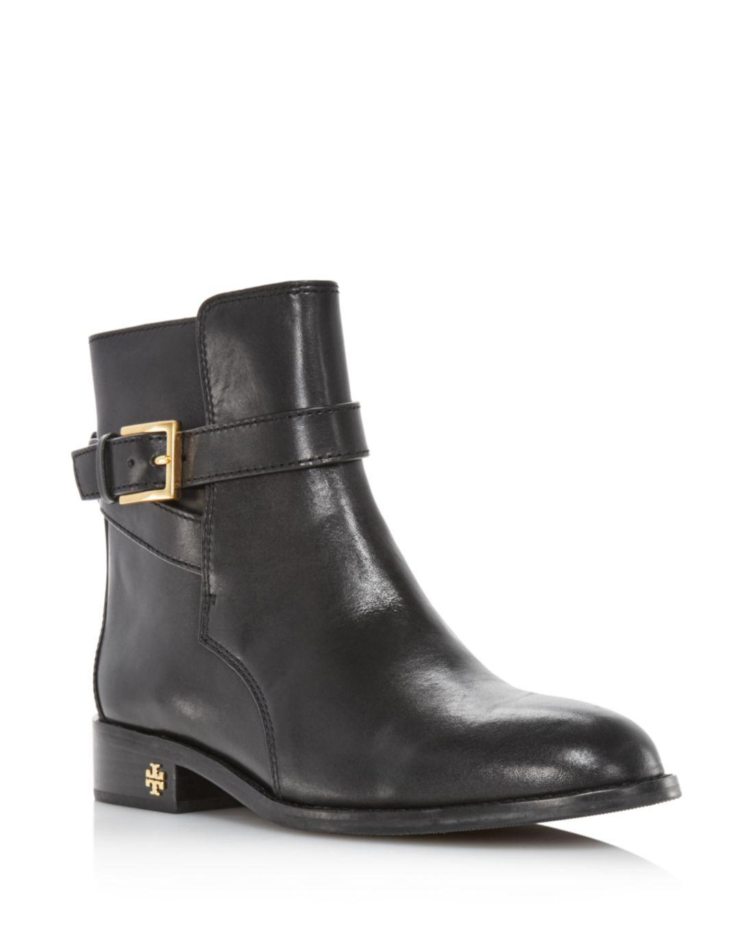 d106ca9e2 Lyst - Tory Burch Women s Brooke Leather Ankle Booties in Black