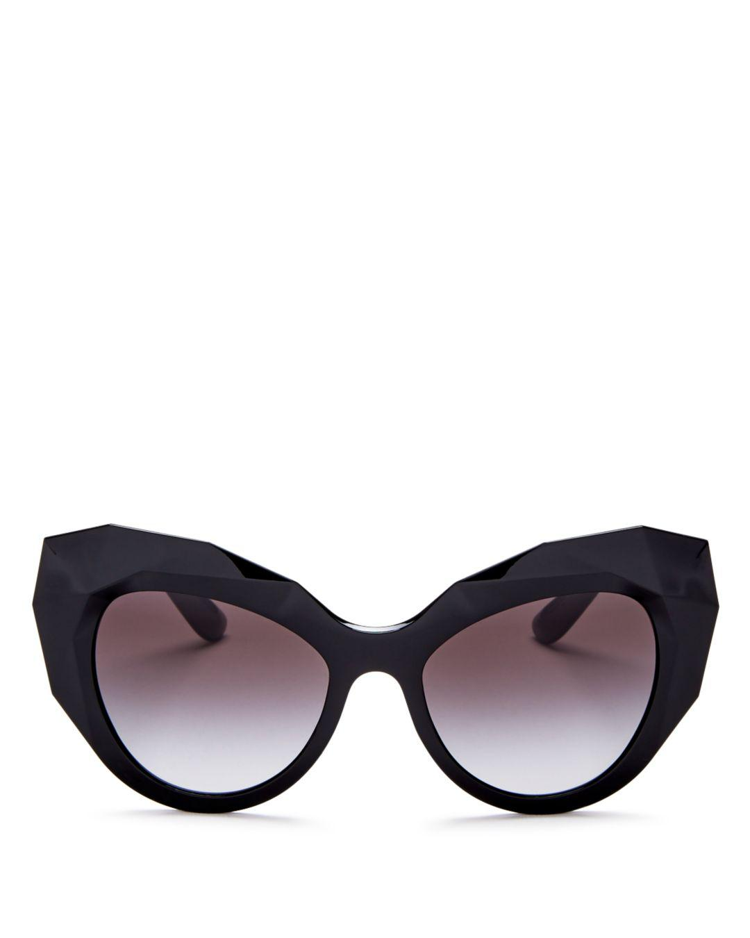 aee0b57a4a12b Dolce   Gabbana. Black Dolce   Gabbana Women s Cat Eye Sunglasses ...