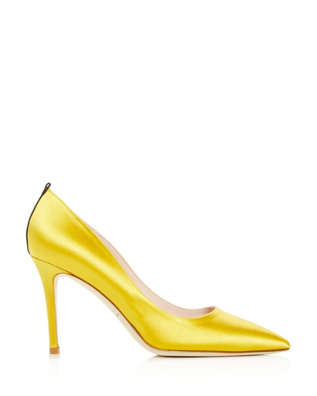 aa30a55fd0 Sjp By Sarah Jessica Parker Women's Fawn Pointed-toe Pumps in Metallic -  Lyst