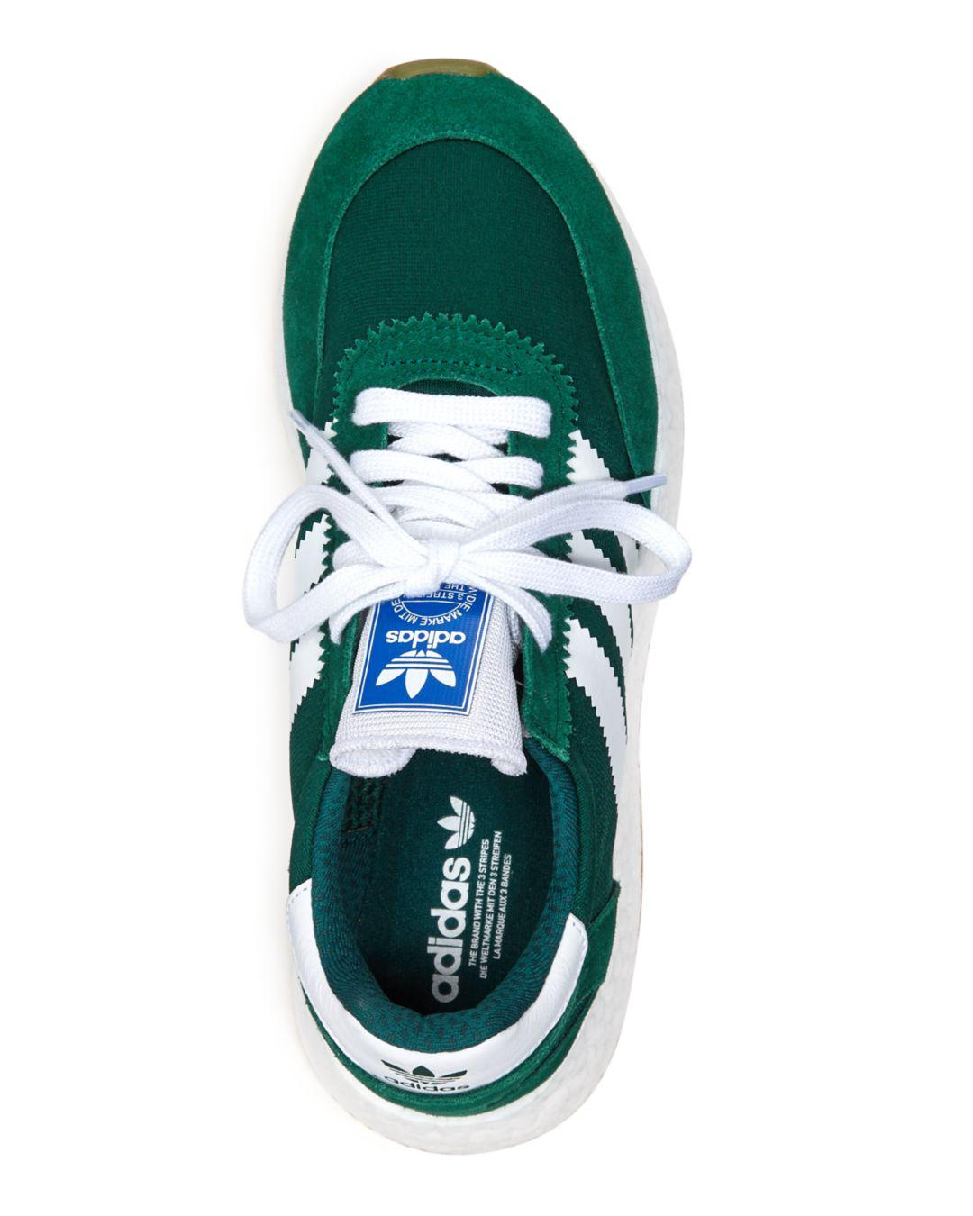 save off 385fa 285ed adidas Women s I-5923 Low-top Sneakers in Green - Lyst