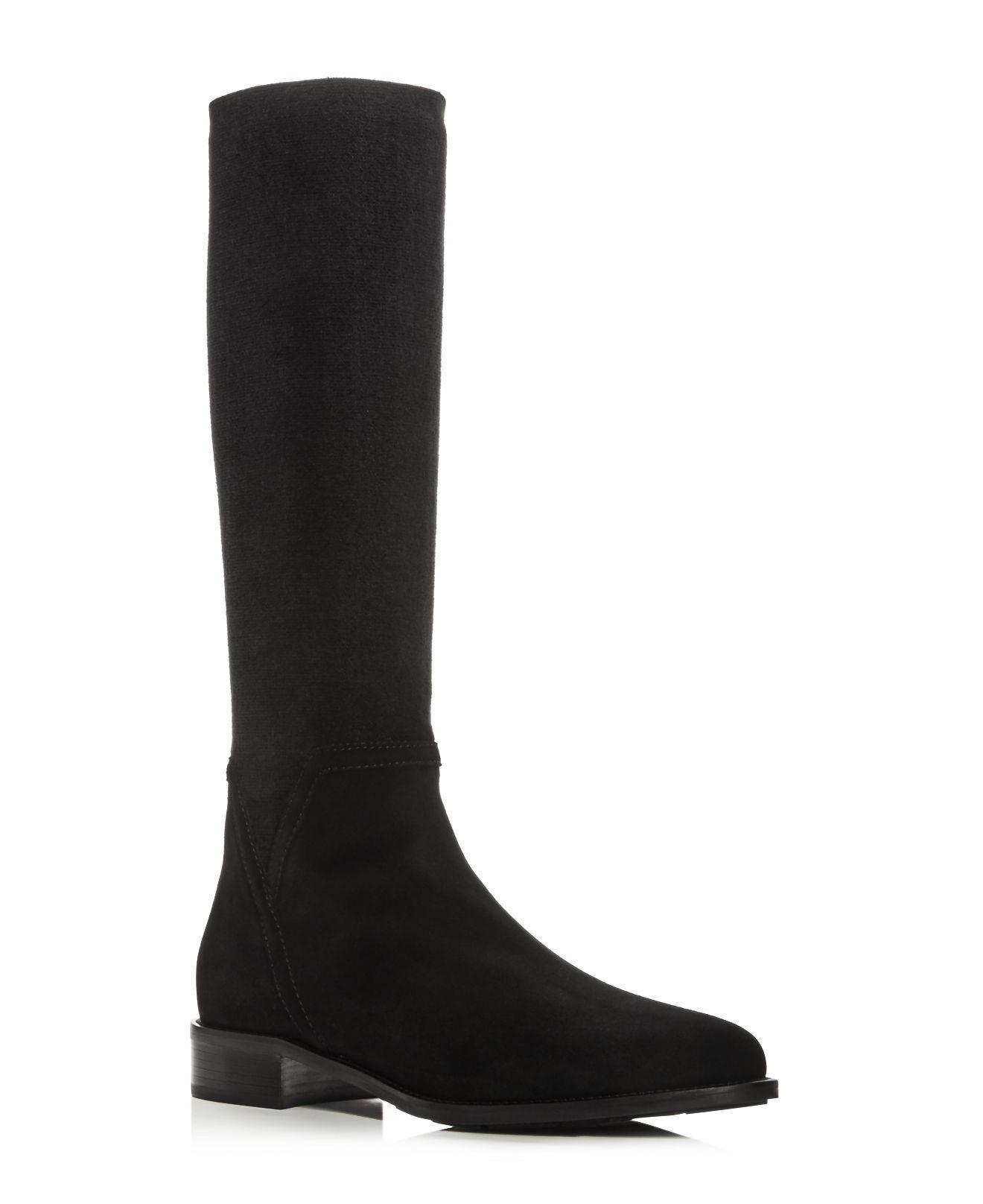 Aquatalia Women S Nicolette Weatherproof Suede Tall Boots