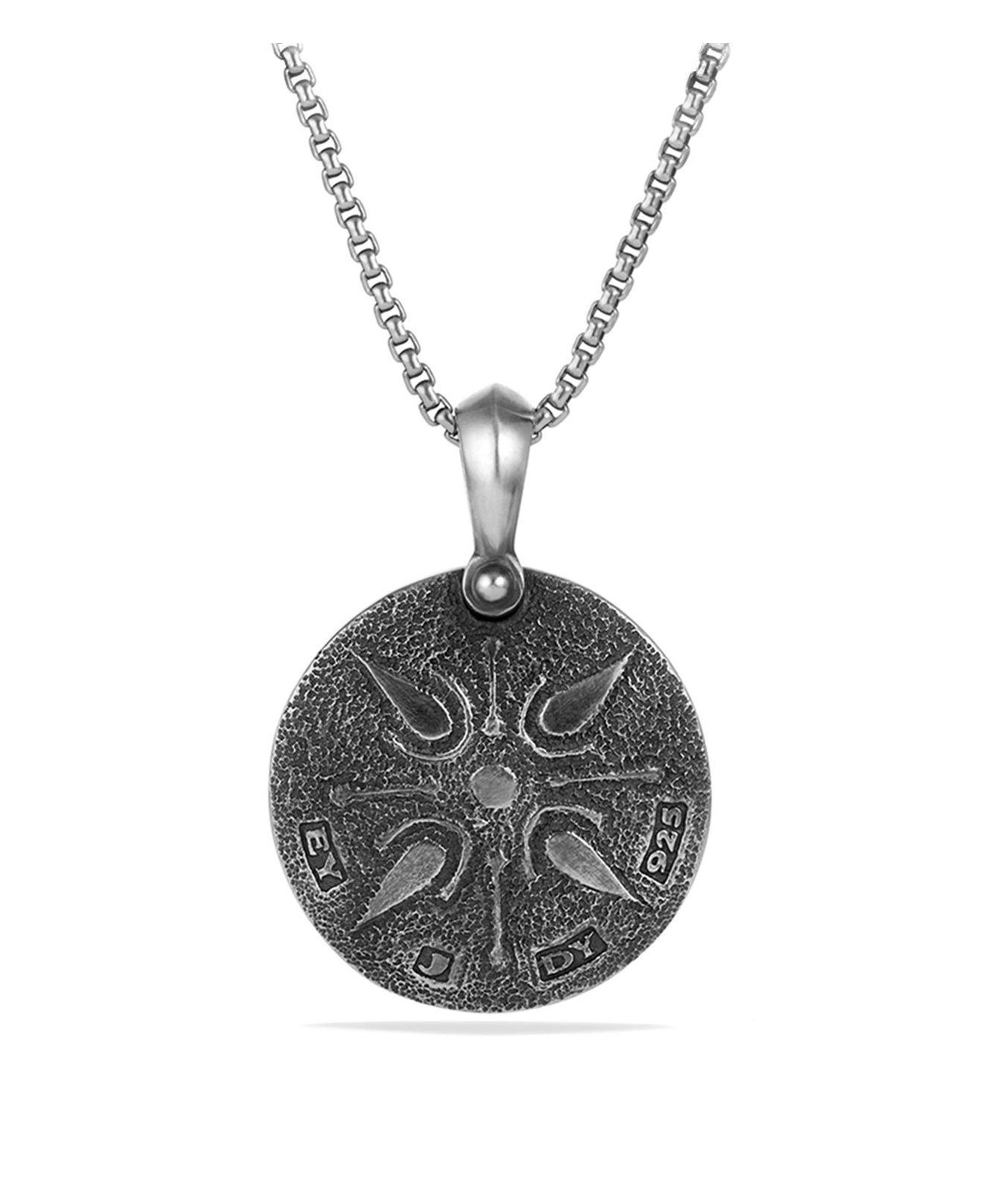 David Yurman Petrvs lion amulet - Metallic igcUi8ap
