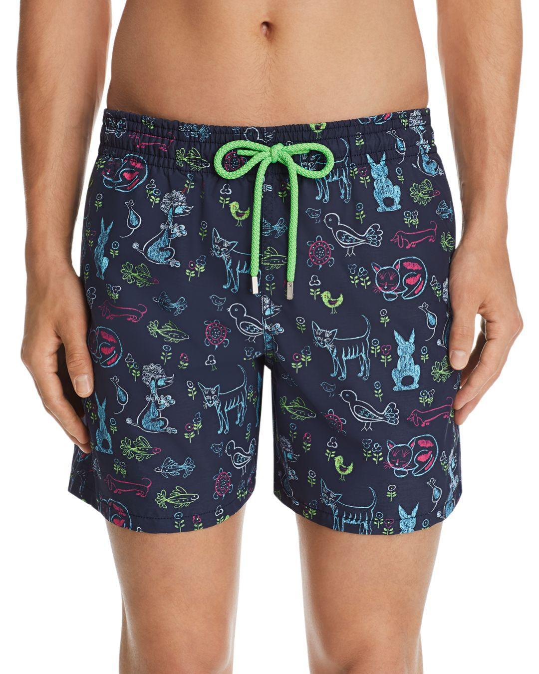 5f889ee3d3 Vilebrequin Moorea Florence Animal-print Swim Shorts in Blue for Men ...
