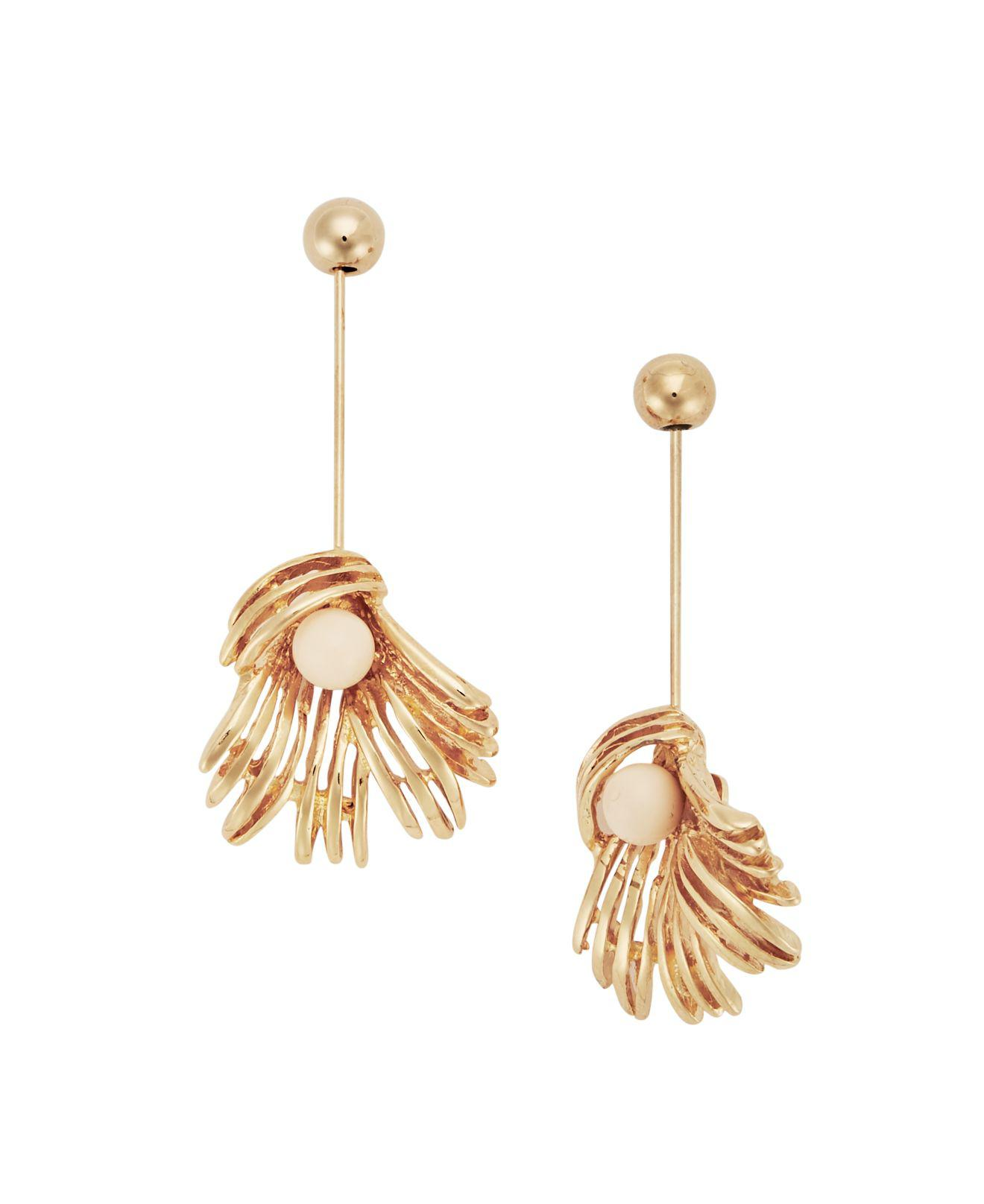 Marni Earrings with spheres and flowers 2ysKCX
