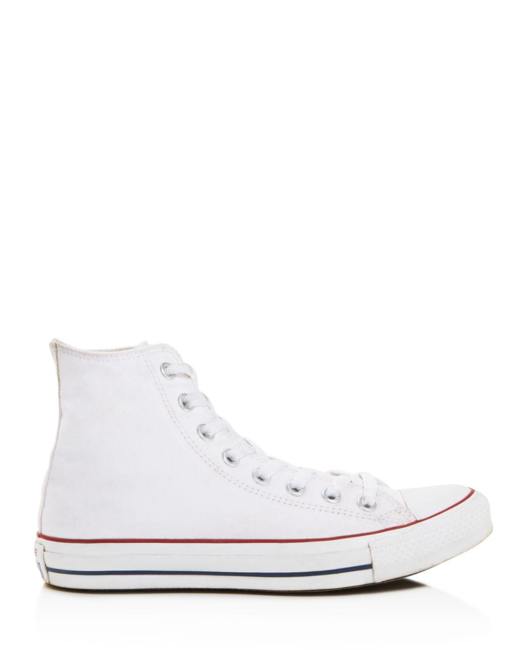 cd48bc77a845 Converse Women s Chuck Taylor All Star High Top Sneakers in White - Save  60% - Lyst