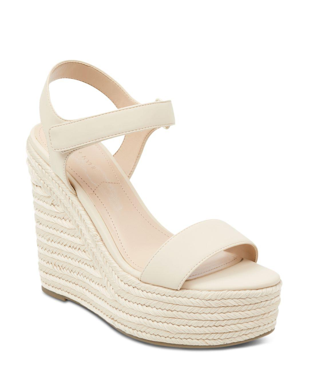 065e2708d0d6 Kendall + Kylie. Natural Kendall And Kylie Women s Grand Platform Wedge  Espadrille Sandals