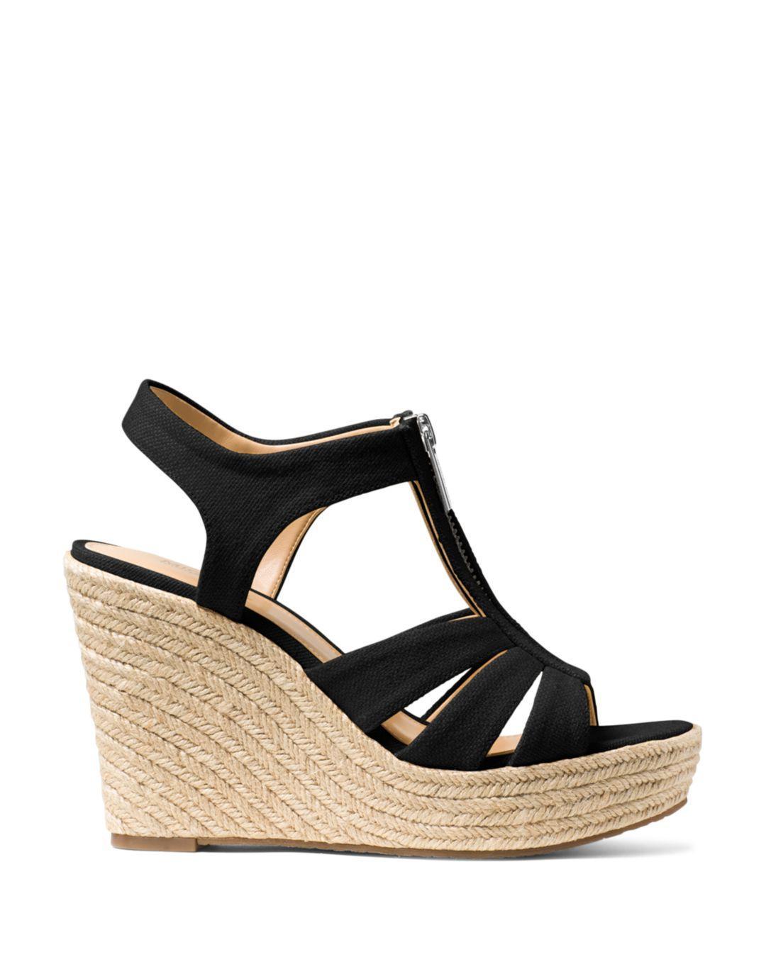 45c0789b887 MICHAEL Michael Kors Women's Berkley Woven Espadrille Wedge Sandals ...