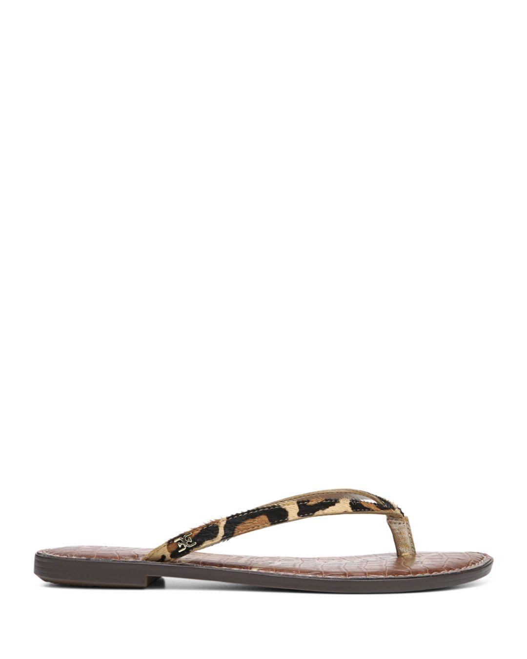 c5060babeb8 Lyst - Sam Edelman Women s Gracie Flip-flops