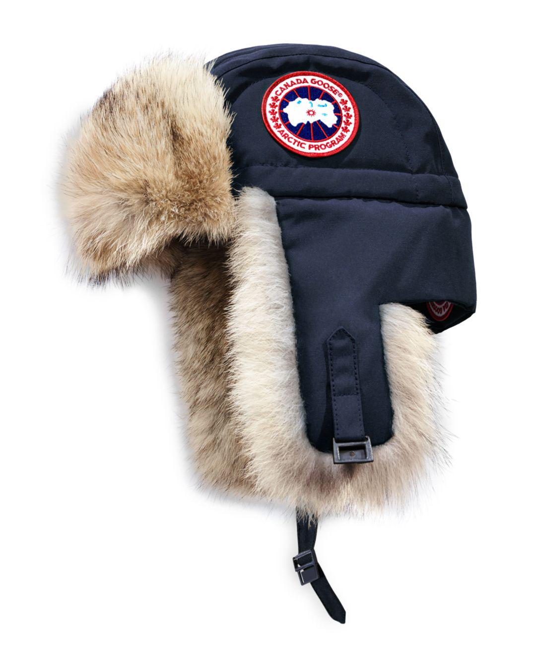 b478b546b2b Canada Goose Aviator Hat in Blue for Men - Save 1% - Lyst