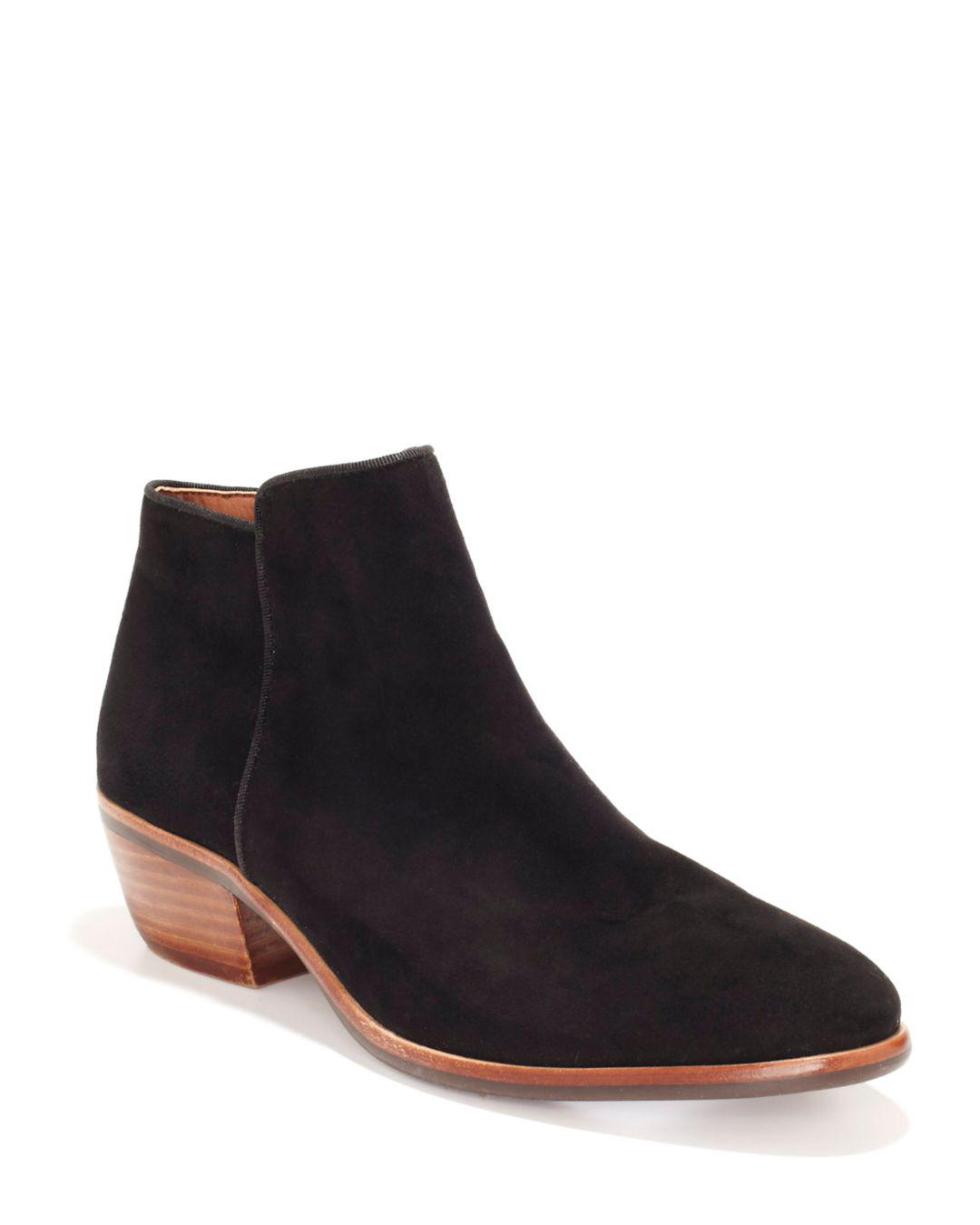 72ea52a5257b77 Sam Edelman Petty Ankle Boots in Black - Lyst