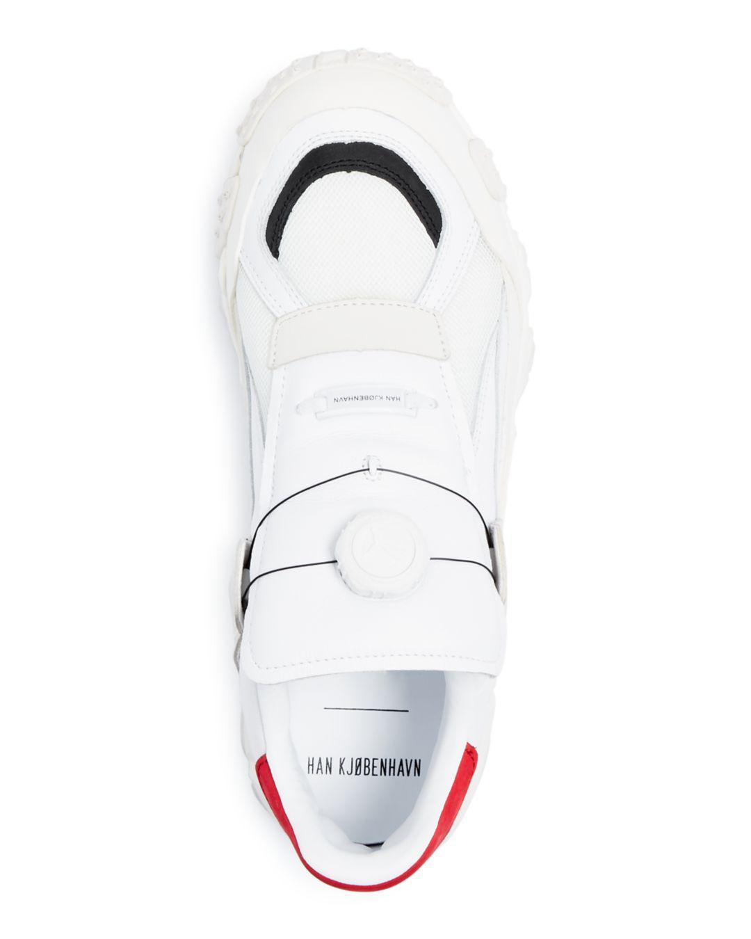 Lyst - PUMA X Han Kjobenhavn Men s Trailhaven Color-block Leather Sneakers  in White for Men b1c314acd