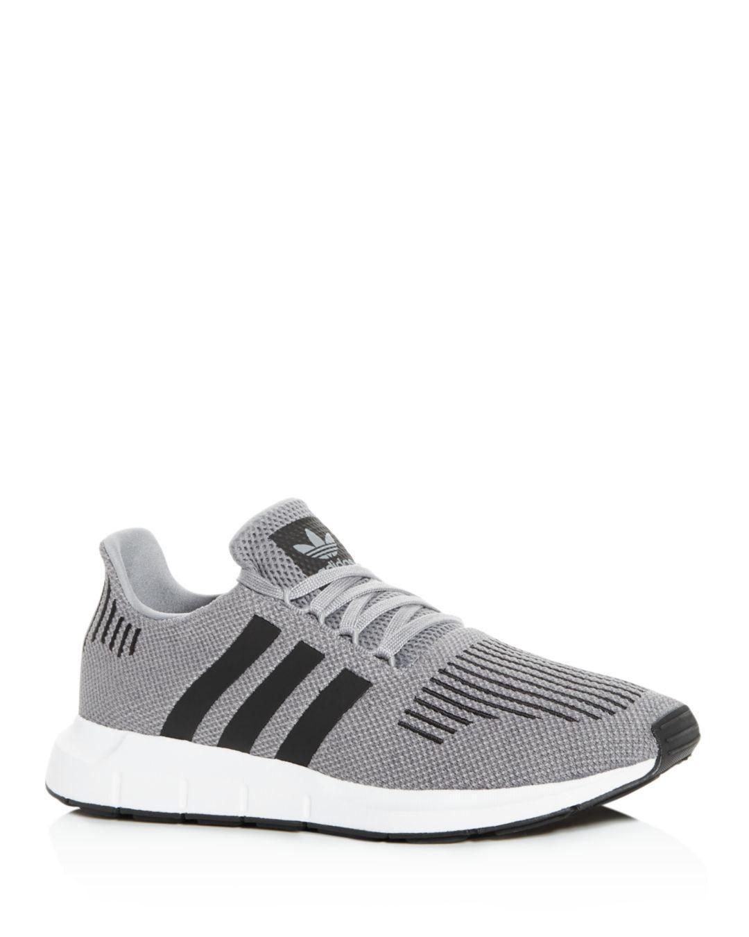 a52201f023925 adidas Men s Swift Run Knit Low-top Sneakers in Gray for Men - Lyst
