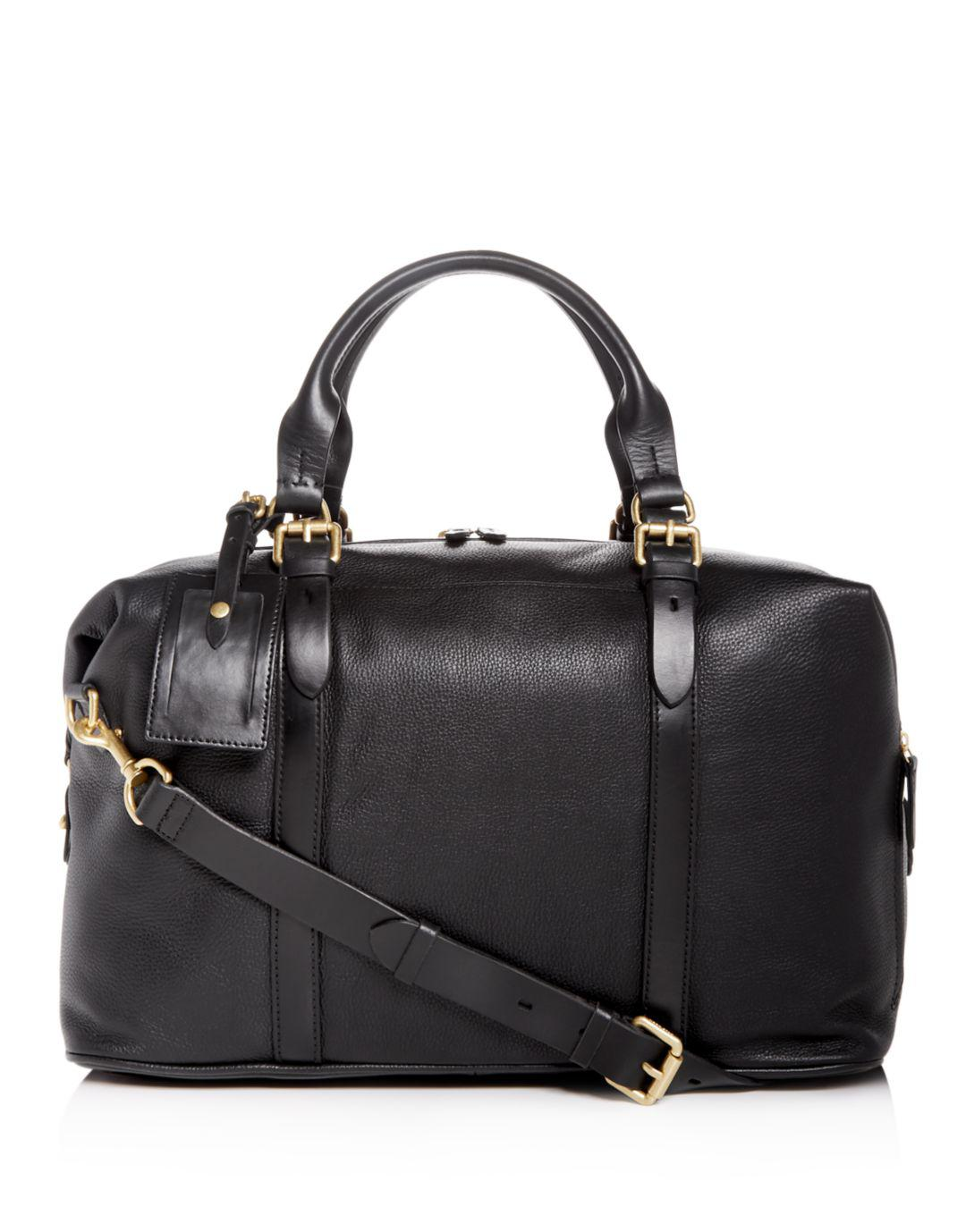 Lyst - Cole Haan Matthews Leather Duffle in Black for Men a7dd65f0abf5e