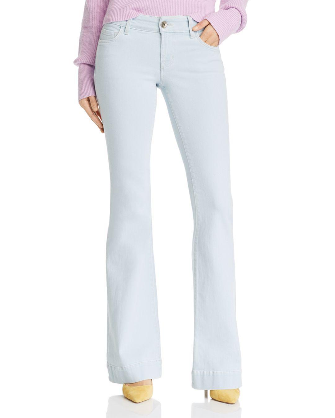 15da8a5f54d8 J Brand Lovestory Flare Jeans In Laser Beam in Blue - Lyst