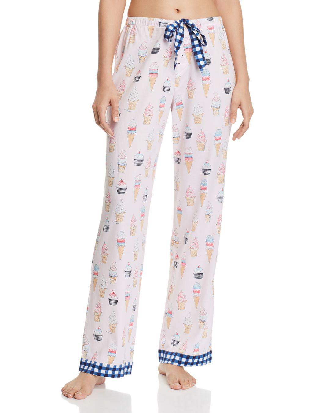 824d5c5d08a1 Lyst - Jane   Bleecker New York Woven Pj Pants in Pink