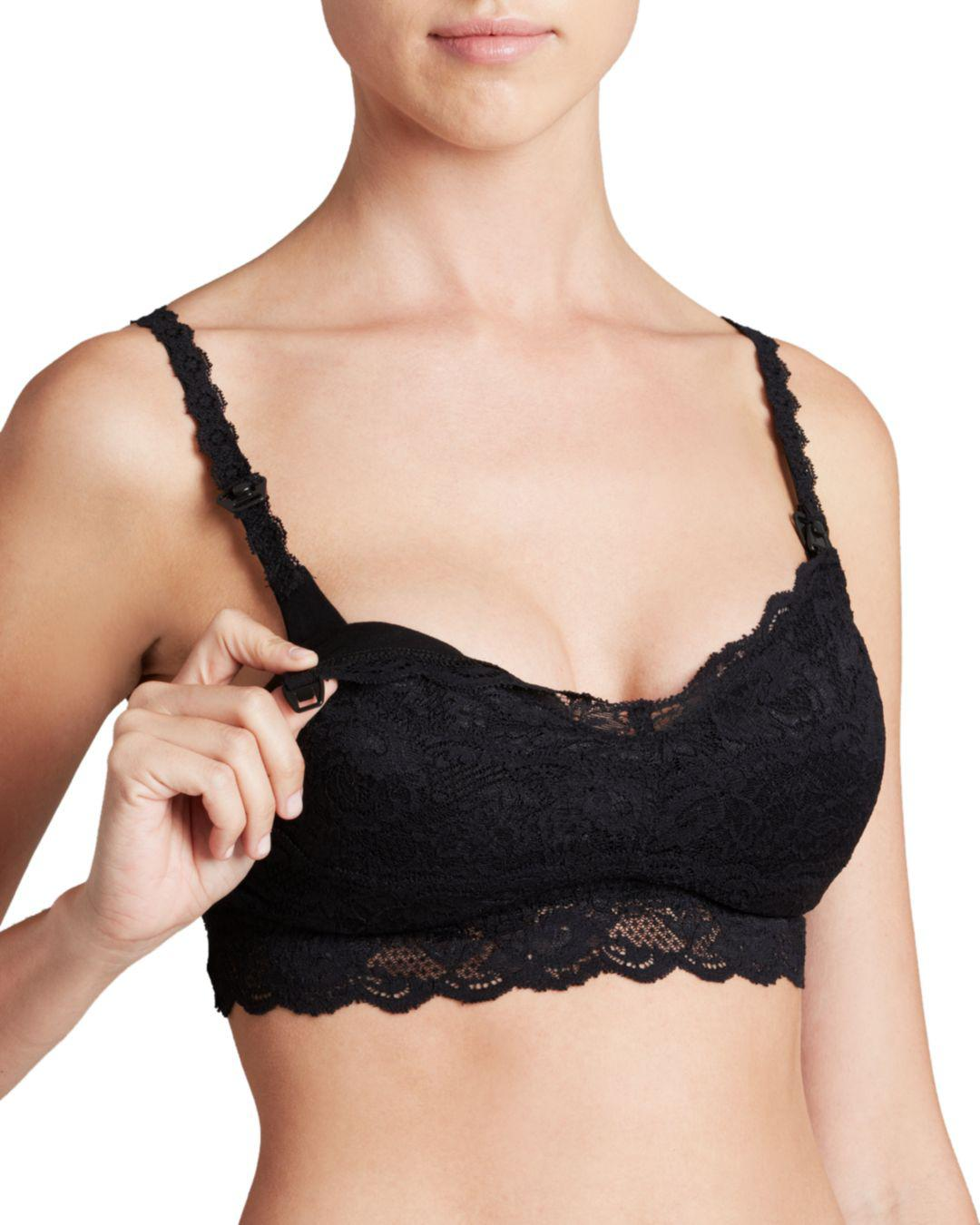 7cad2ac07 Lyst - Cosabella Never Say Never Mommie Maternity Bra in Black