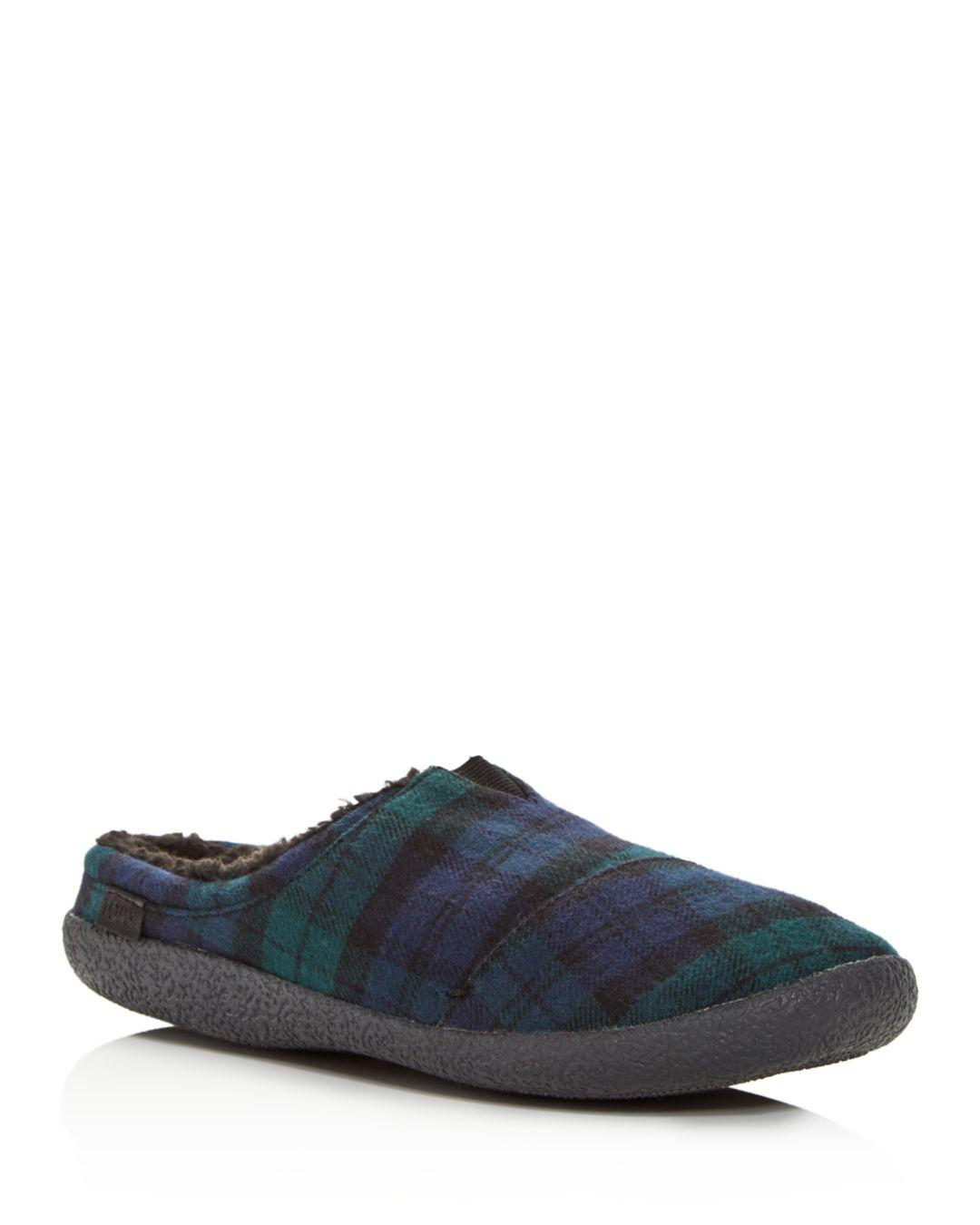 39bad58bb17 Lyst - TOMS Men s Berkeley Plaid Slippers for Men - Save 13%