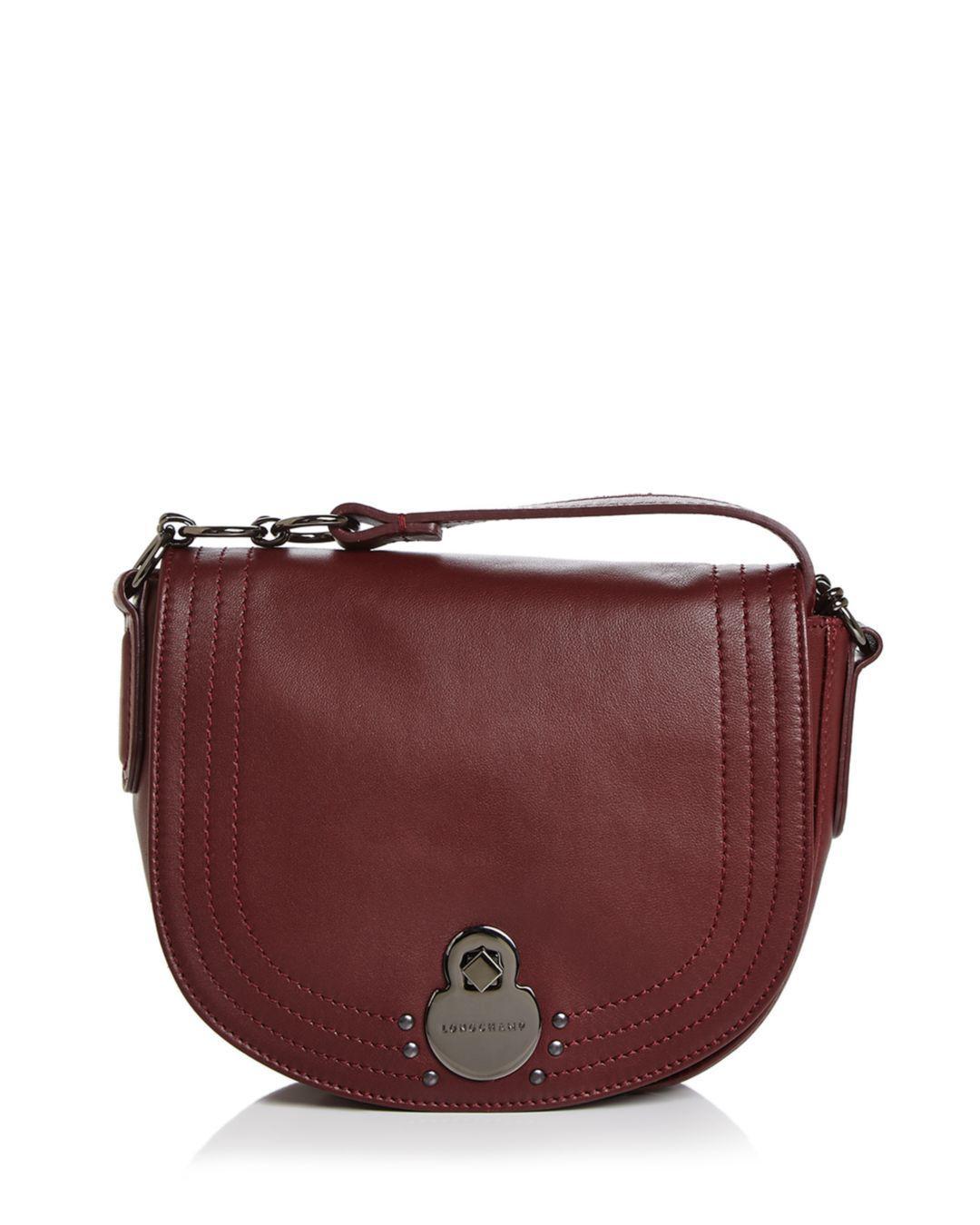 3a66722866e4 Lyst - Longchamp Cavalcade Small Leather Crossbody