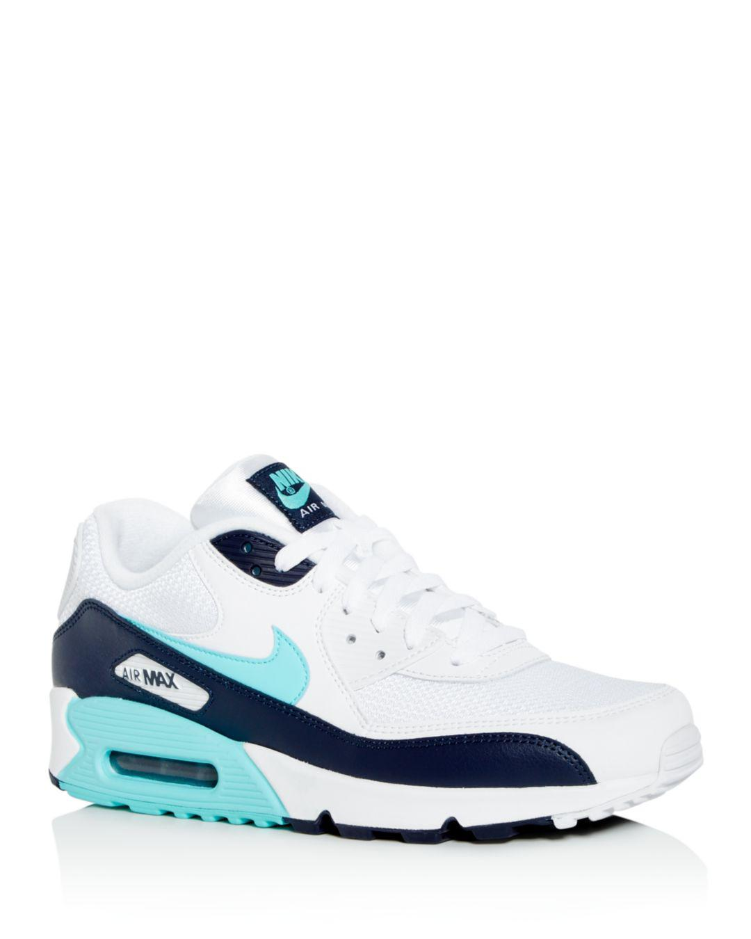 new product 4b43b fecd9 Nike. White Men s Air Max 90 Essential Low-top Sneakers