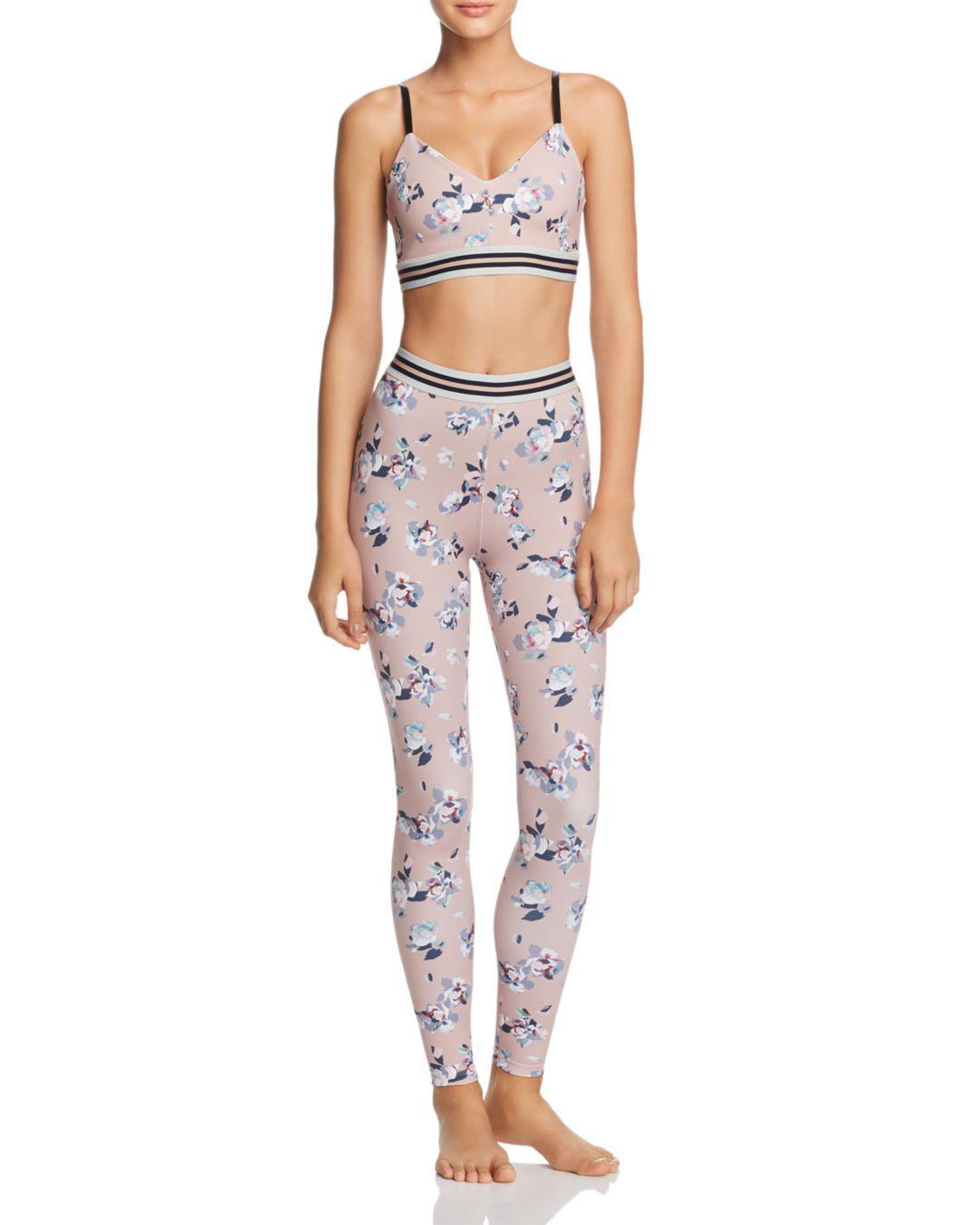 022819297b9325 Beyond Yoga Olympus Floral Print Leggings - Lyst
