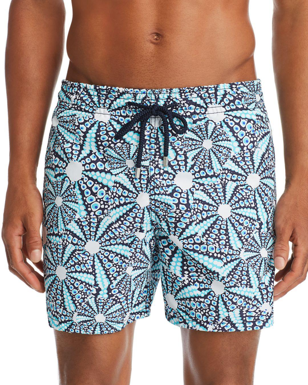 6c975d67a2 Vilebrequin Moorea Oursinade Printed Swim Shorts in Blue for Men - Lyst