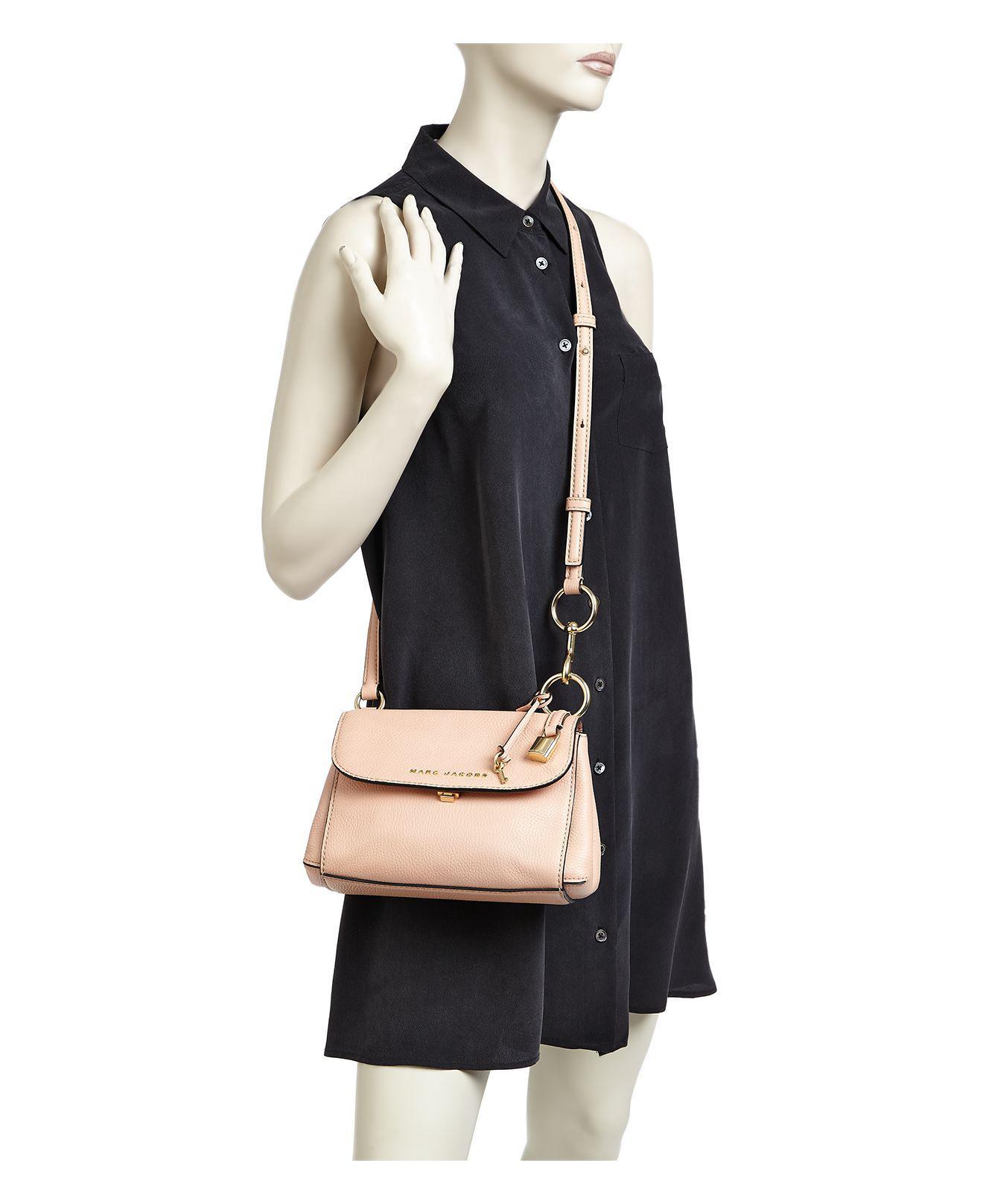 ff54b19f012fa Lyst - Marc Jacobs Mini Boho Grind Leather Crossbody