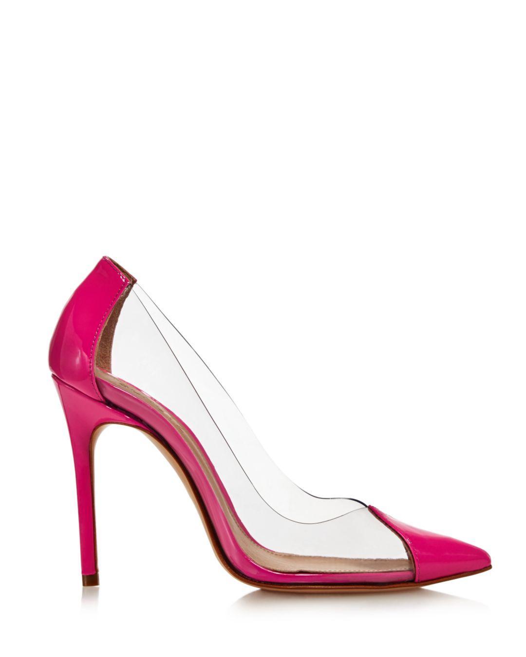 76fce43a64004 Lyst - Schutz Women s Cendi Patent Leather High-heel Pumps