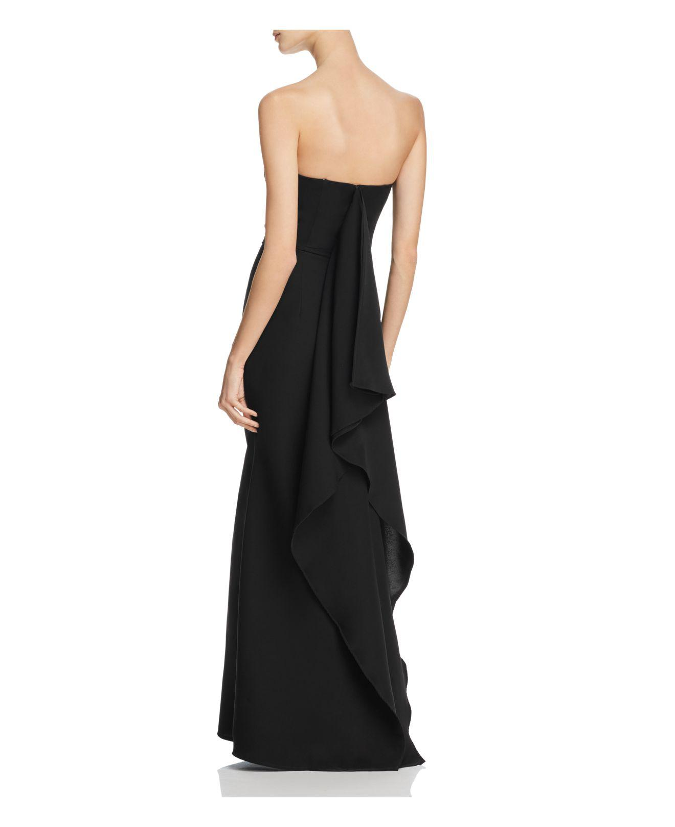 cab08ca0b55f Jarlo Miracle Strapless Gown in Black - Lyst