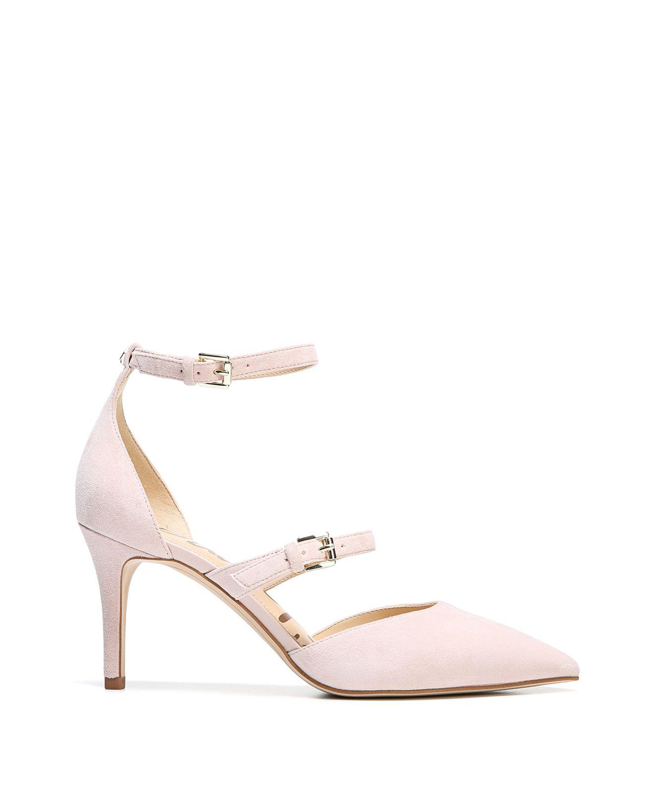 ef2a8e46b9ba Lyst - Sam Edelman Thea Pointed Toe D orsay Ankle Strap Pumps