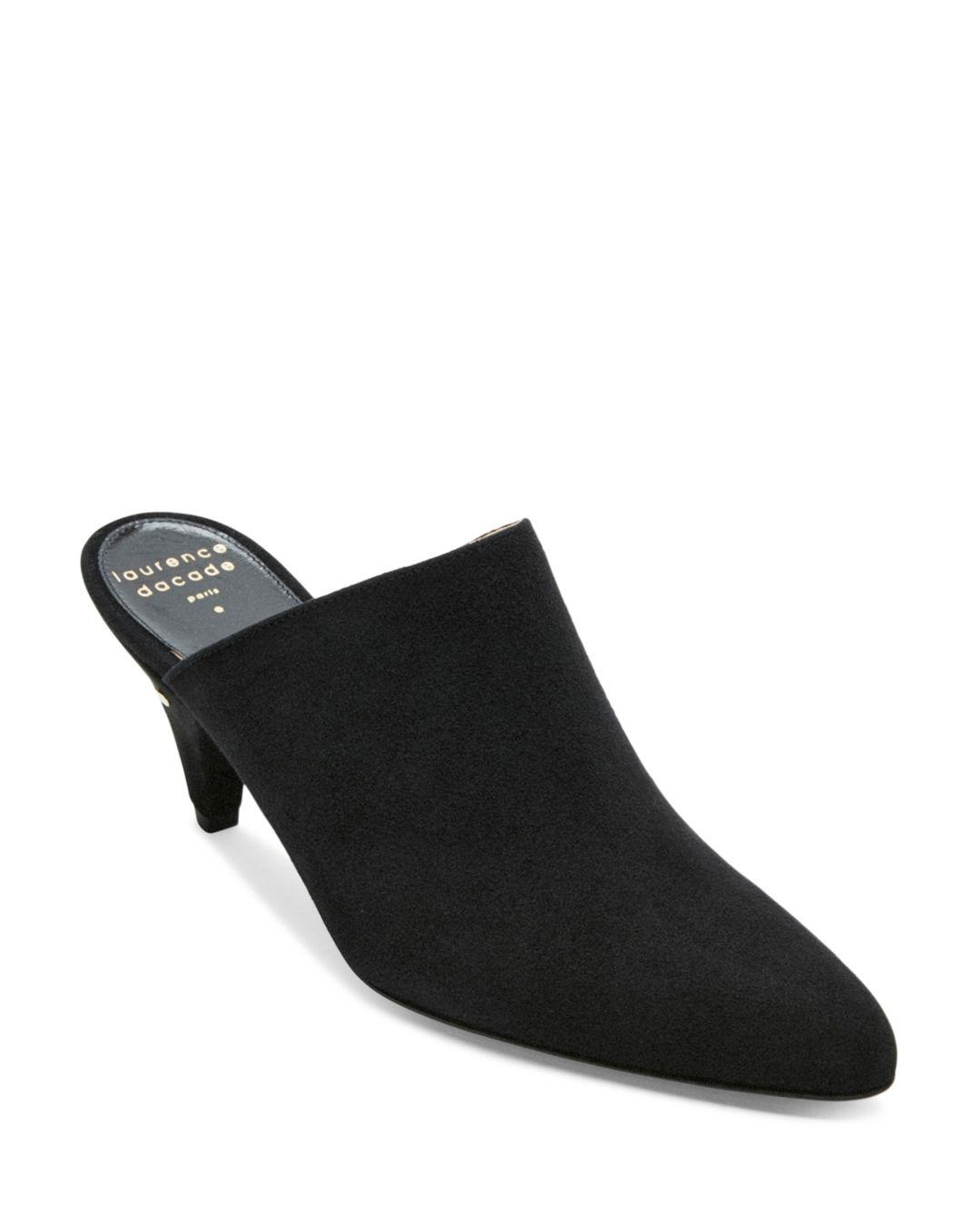 fd072f5294056 laurence-dacade-Black-Womens-Stefany-Suede-Pointed-toe-Mules.jpeg